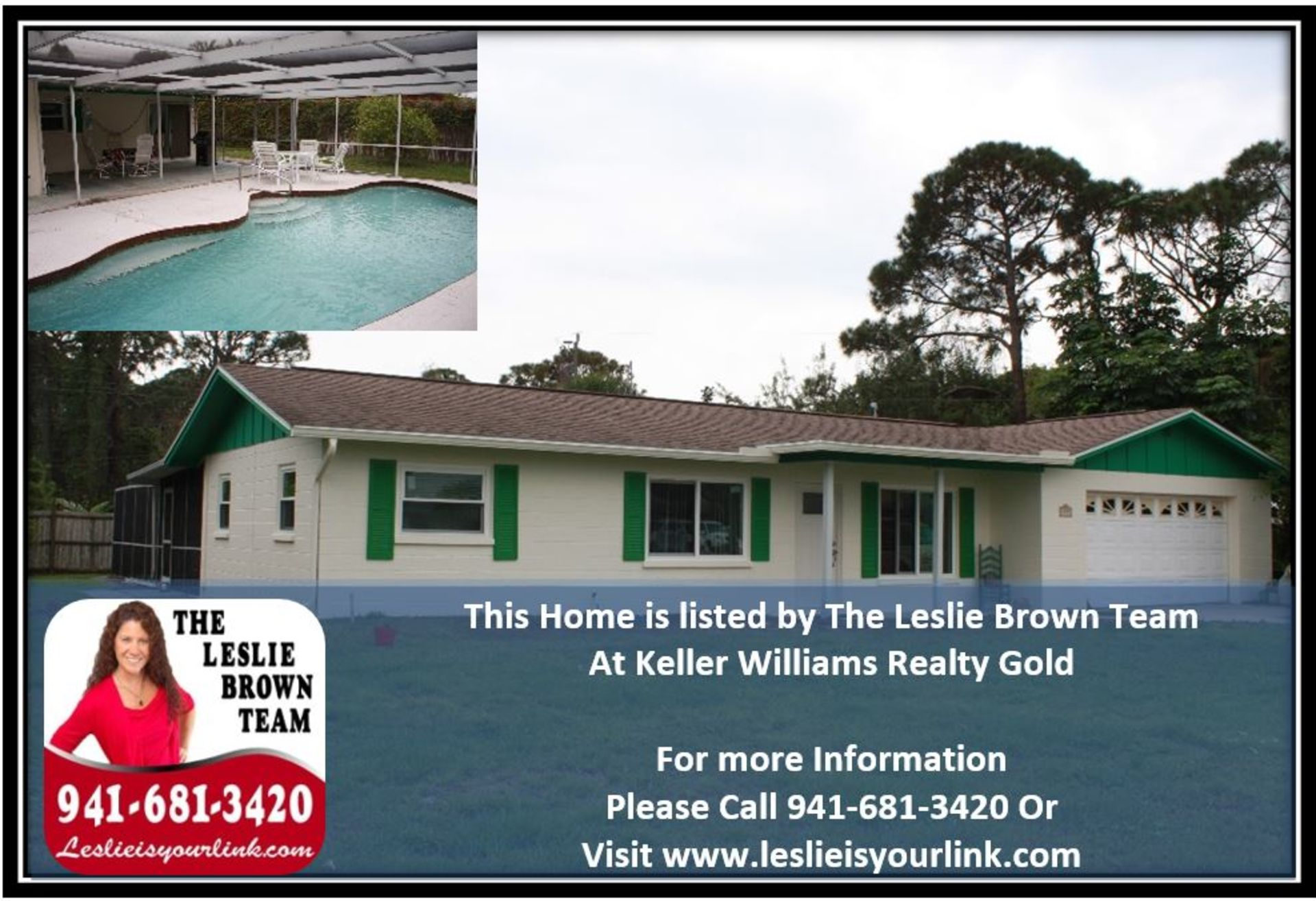 Englewood Florida Real Estate- 1595 Overbrook Rd Englewood, FL 34223