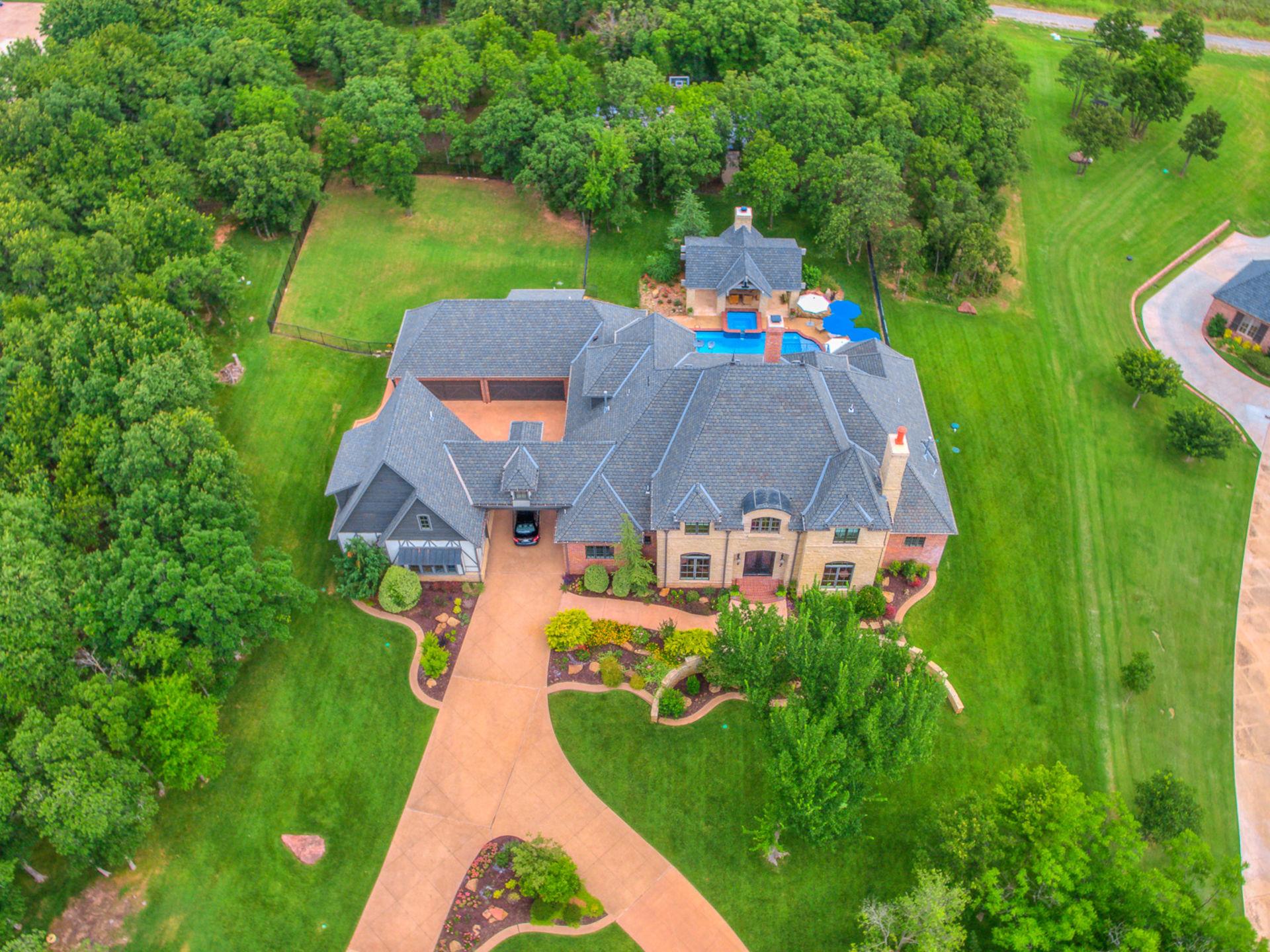 Grand Estate on Lake Arcadia