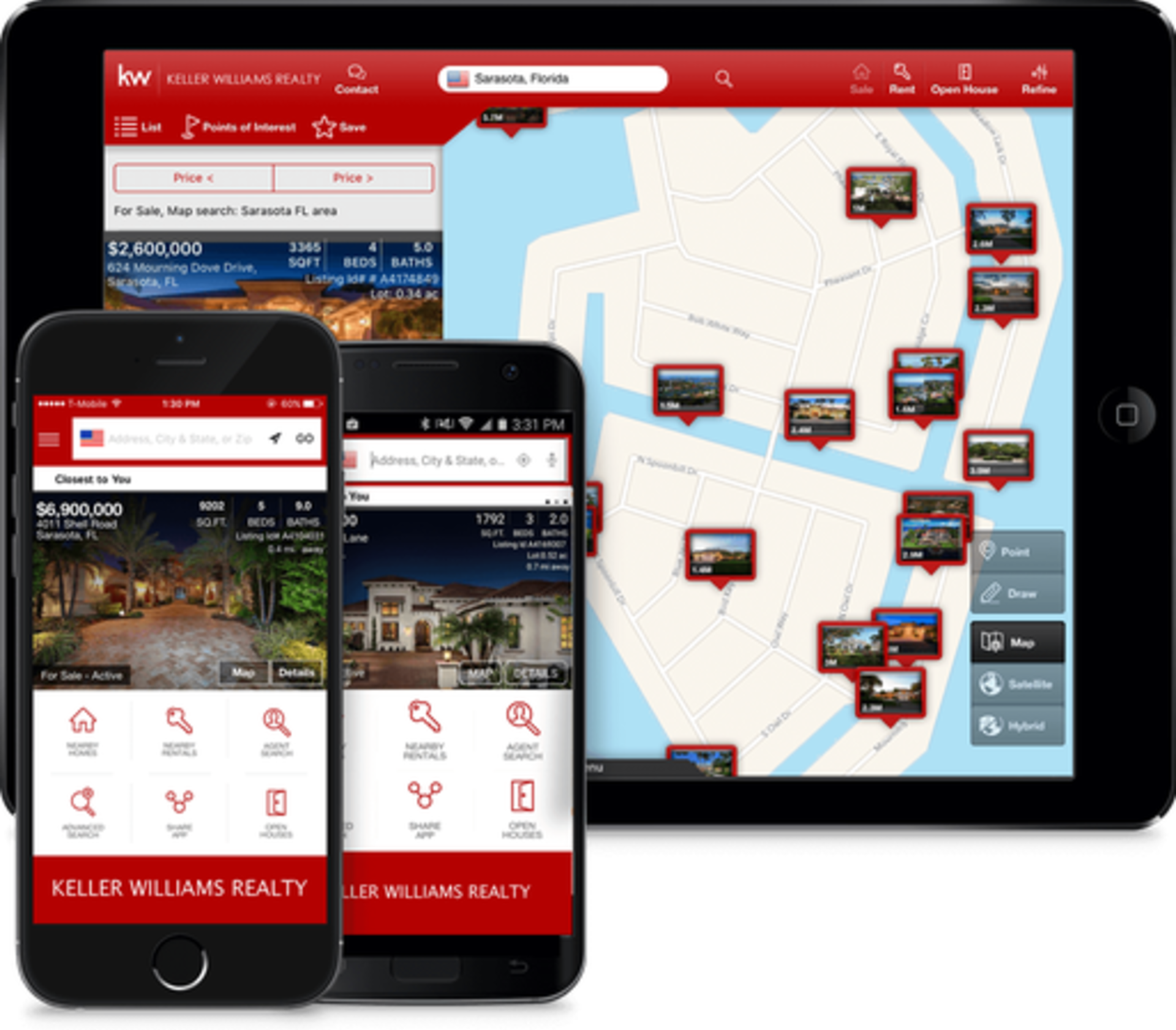 Get FREE instant access to local homes   from any mobile device!
