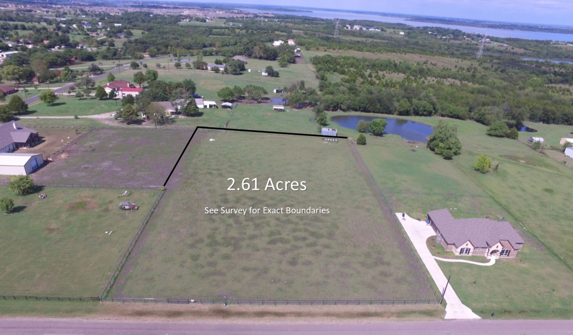 2.61 Acres in St. Paul Texas