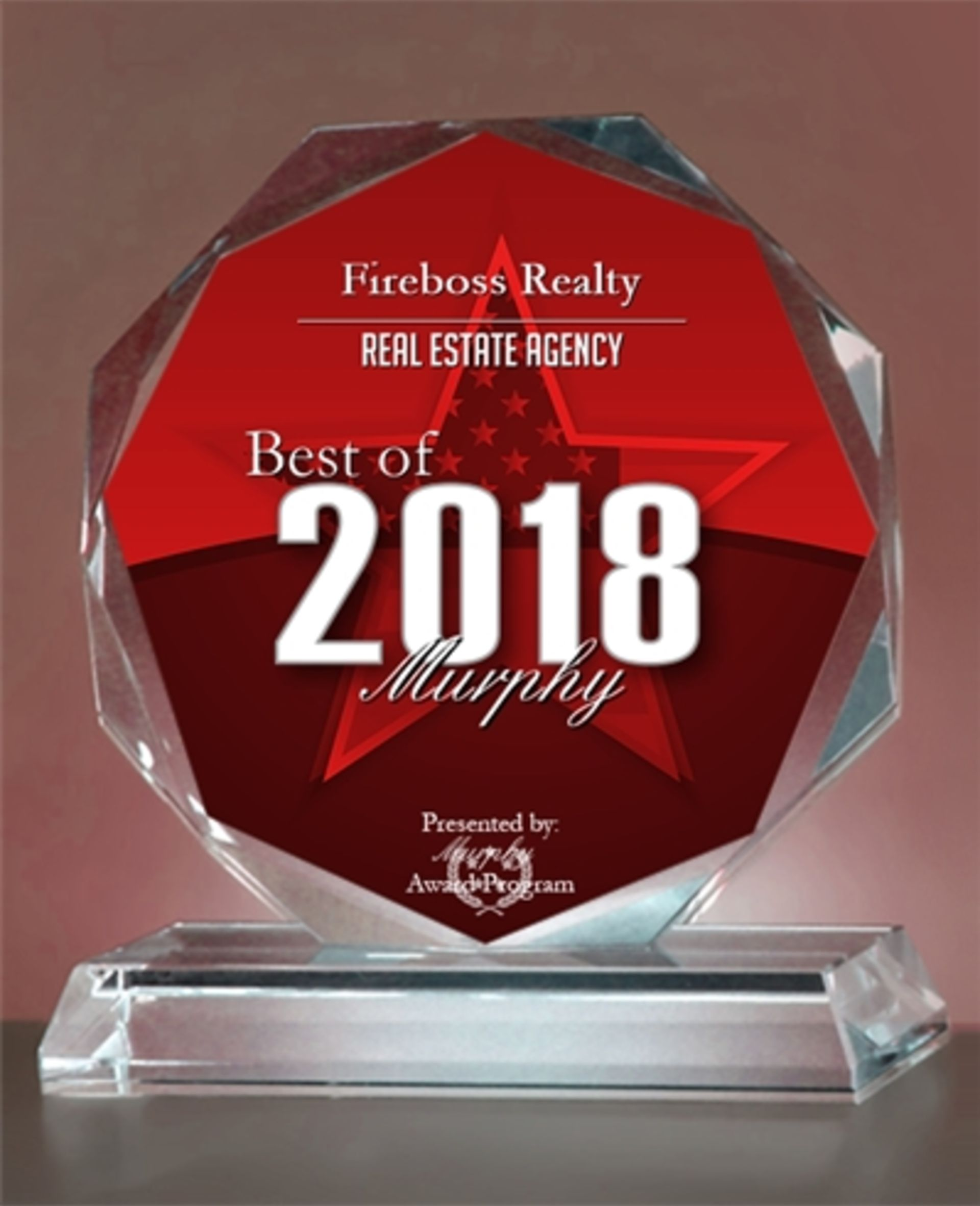 FireBoss Realty Receives 2018 Best Of Murphy Award