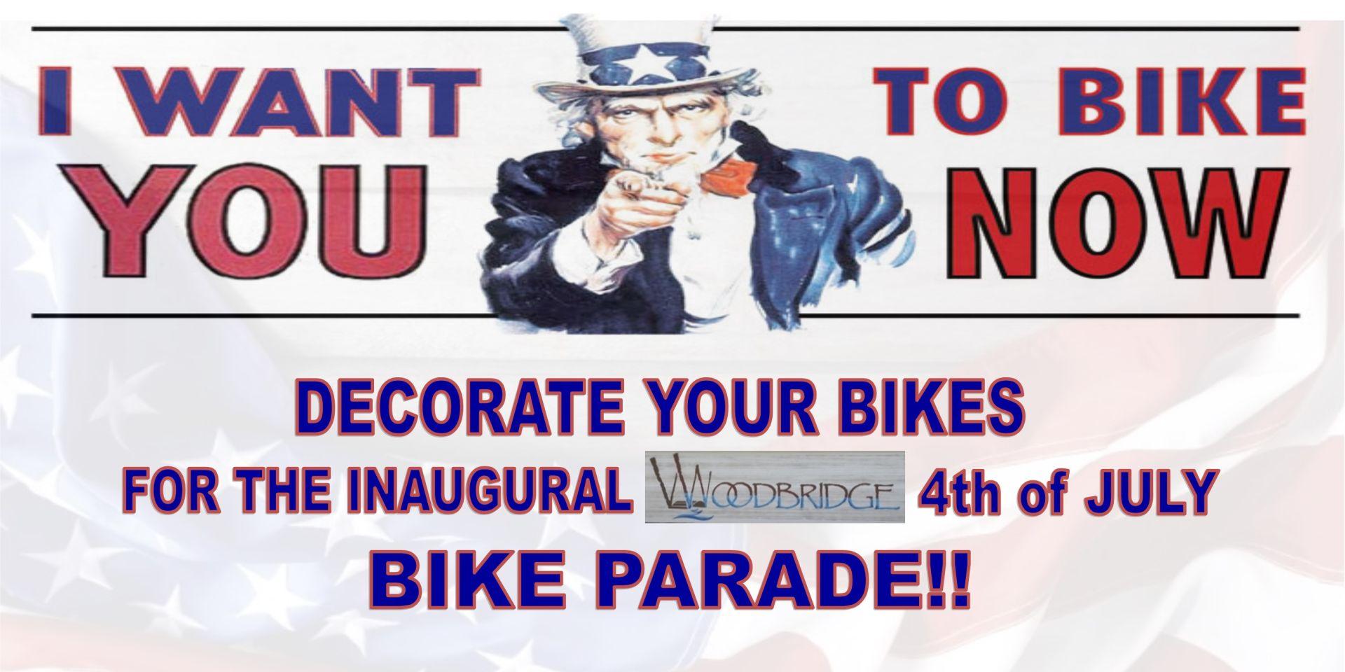 Woodbridge Fourth of July Bike Parade