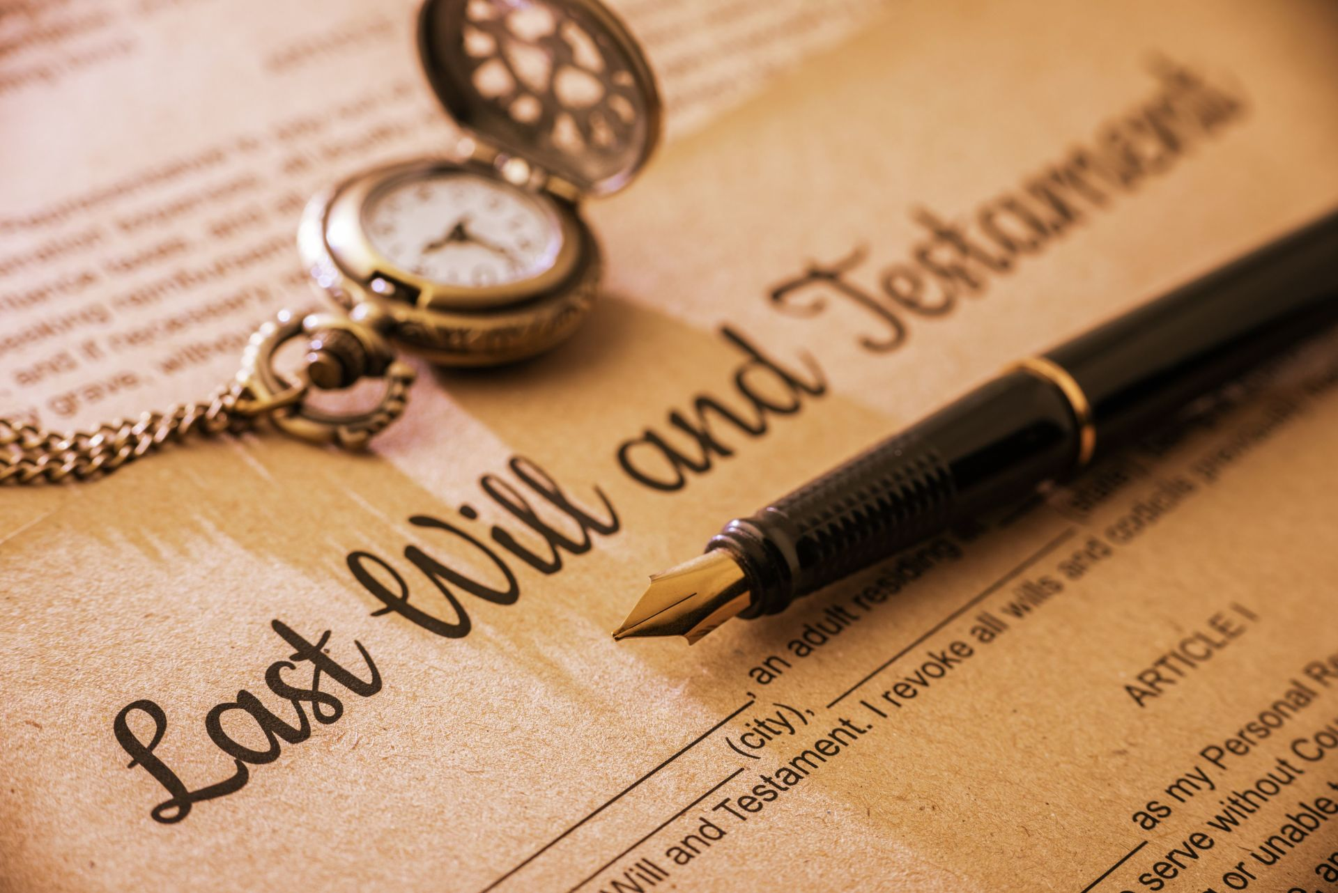 How to Sell Without a Will