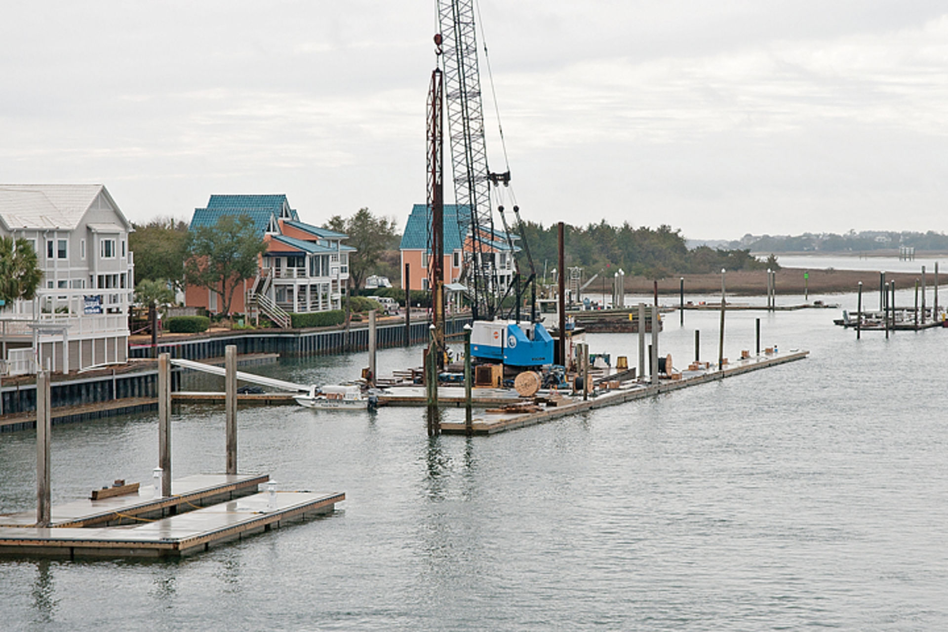 April completion for Wrightsville Marina renovations…