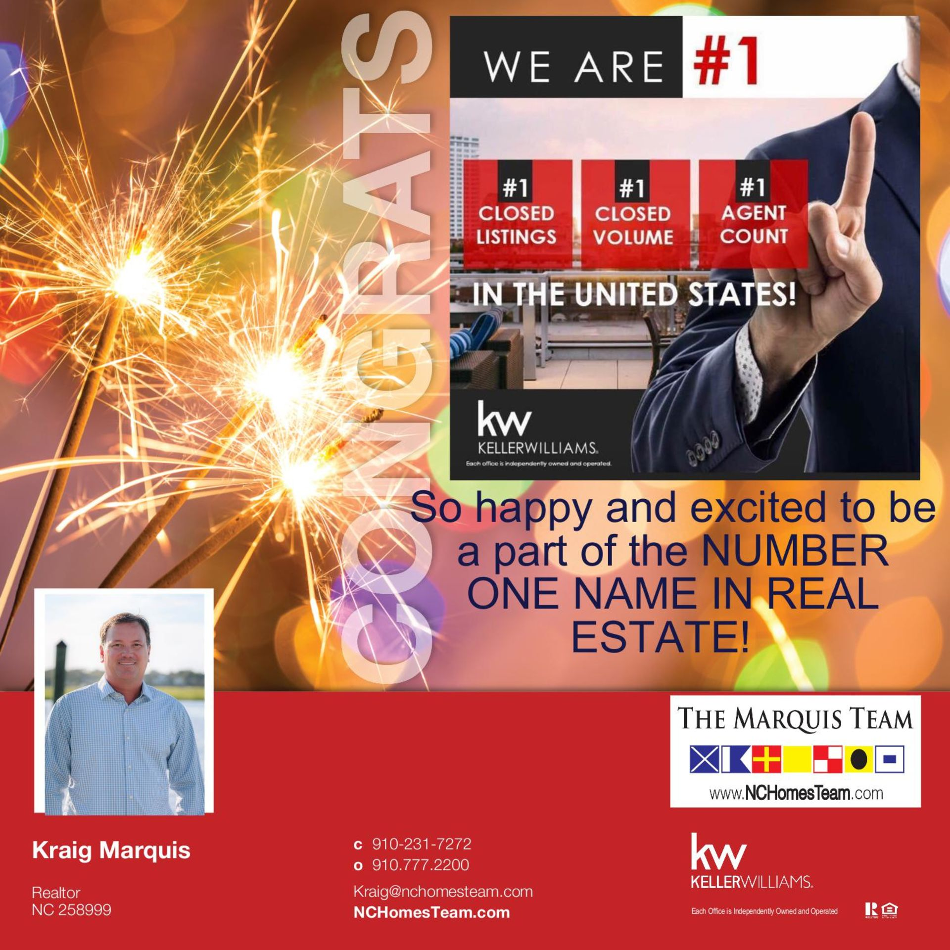 Keller Williams Realty Is NO. 1!