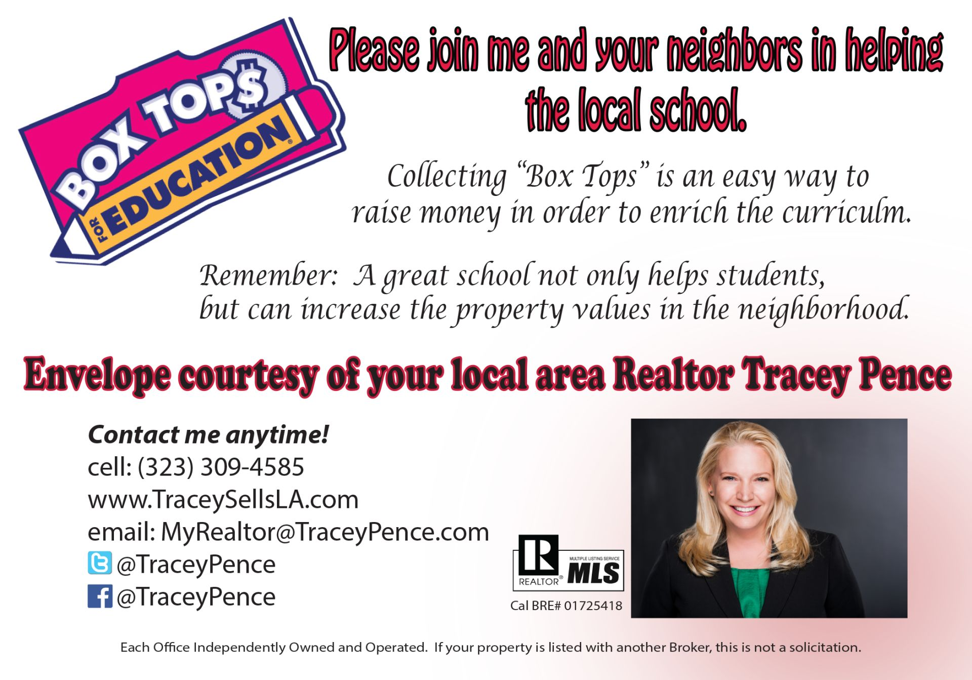 Free way to raise money for your local school