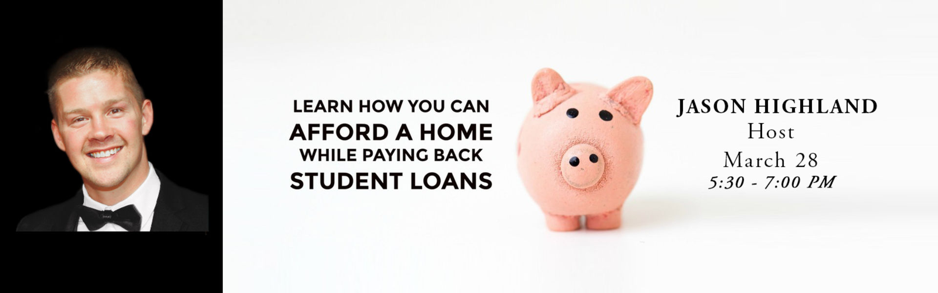 Jason Co-hosts Seminar on Home Buying and Student Debt
