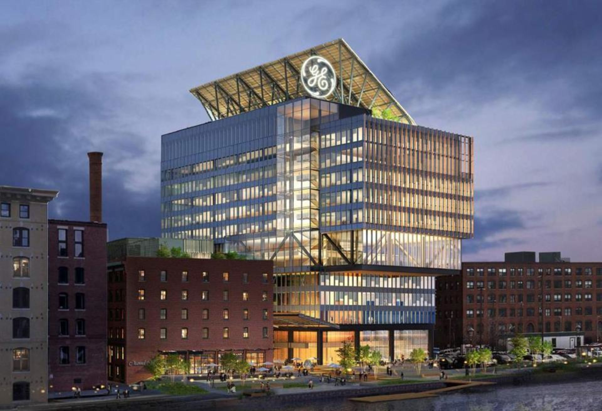 GE Breaks Ground on New Boston Headquarters!