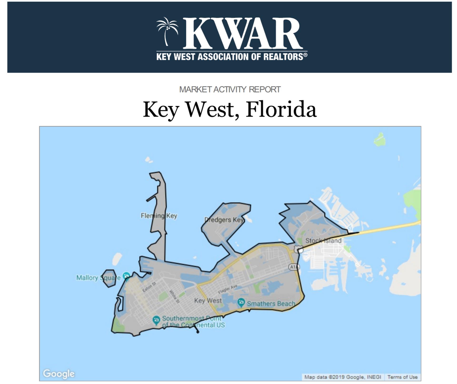 Key West Market Activity Report