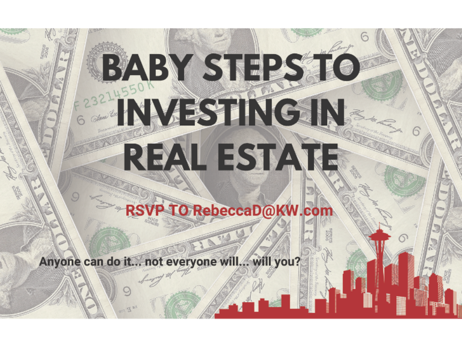 Baby Steps to Investing in Real Estate