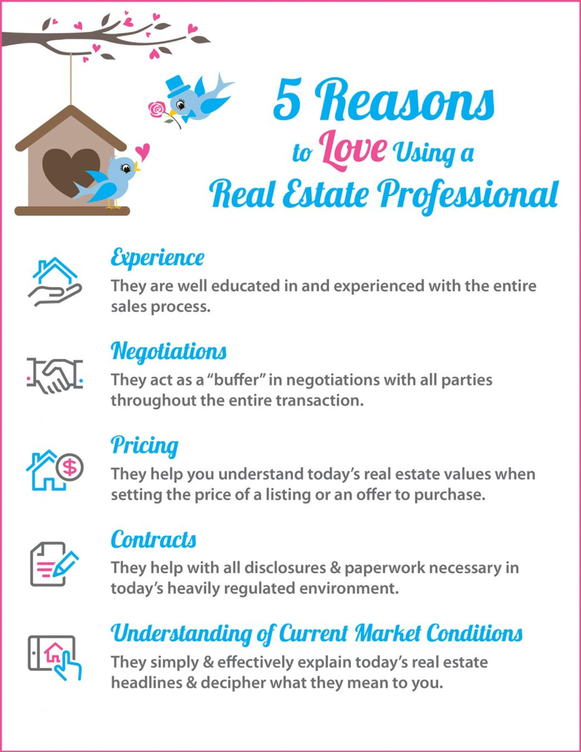 5 Reasons To Hire a Real Estate Agent!