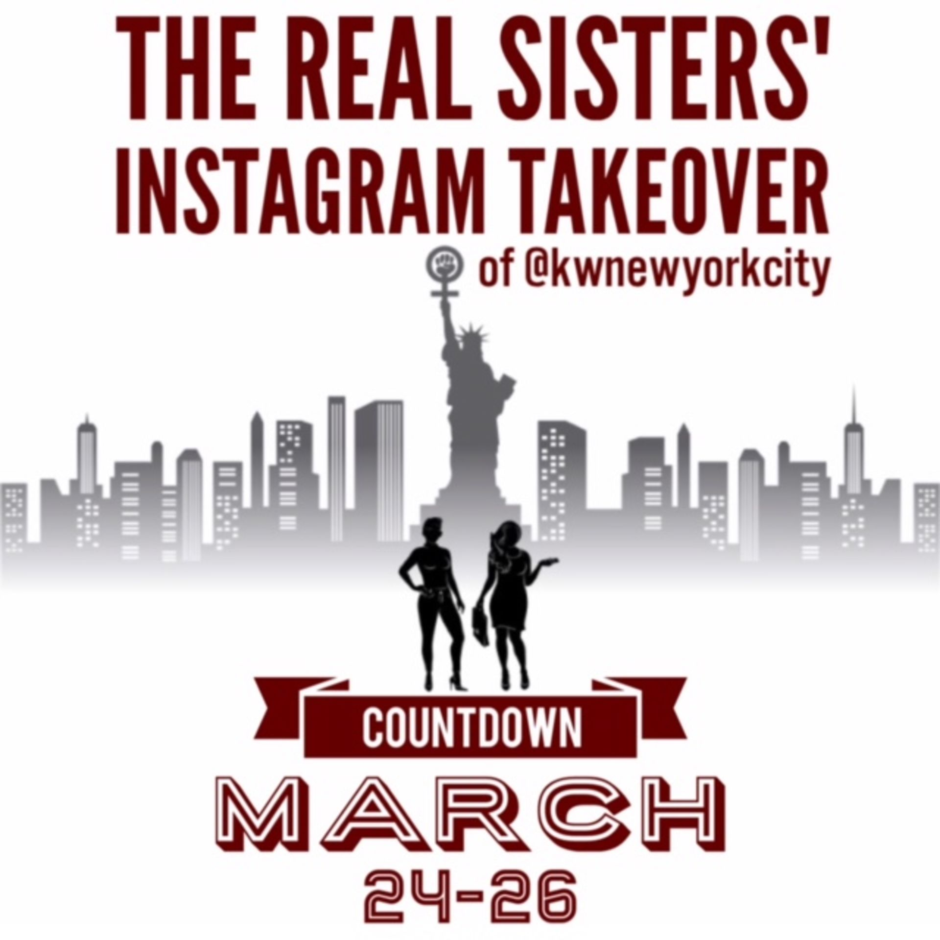 ANNOUNCEMENT: The Real Sisters Takeover