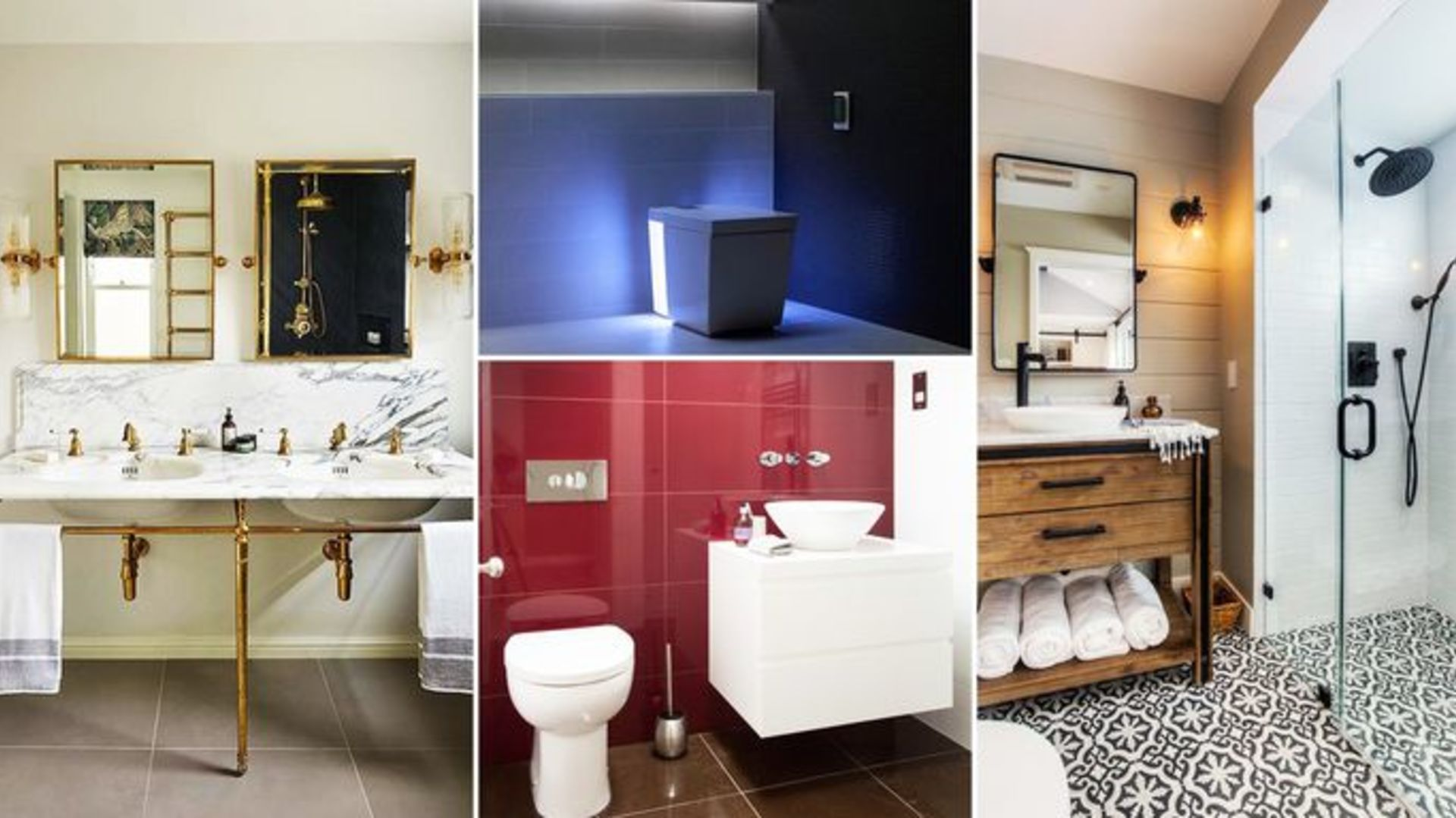 7 of the Most Stunning Bathroom Design Trends of 2018