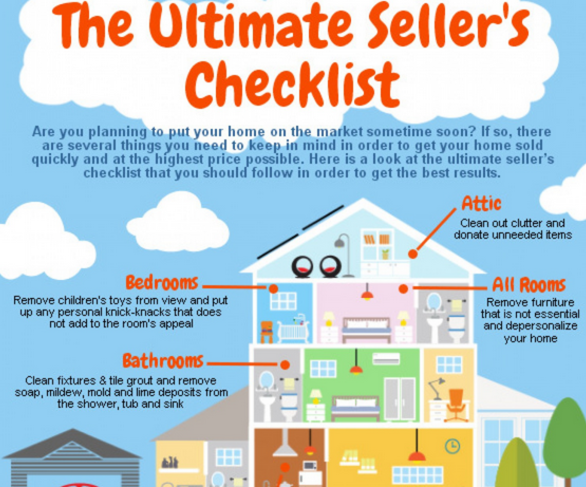 The Home Seller's To-Do Checklist
