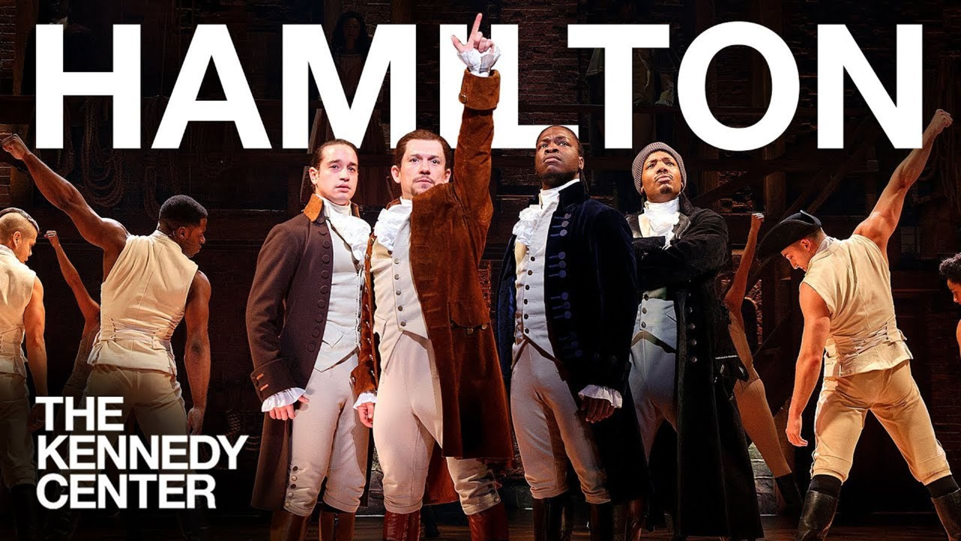 WIN A Pair of PREMIUM Tickets to See HAMILTON Live at The Kennedy Center!