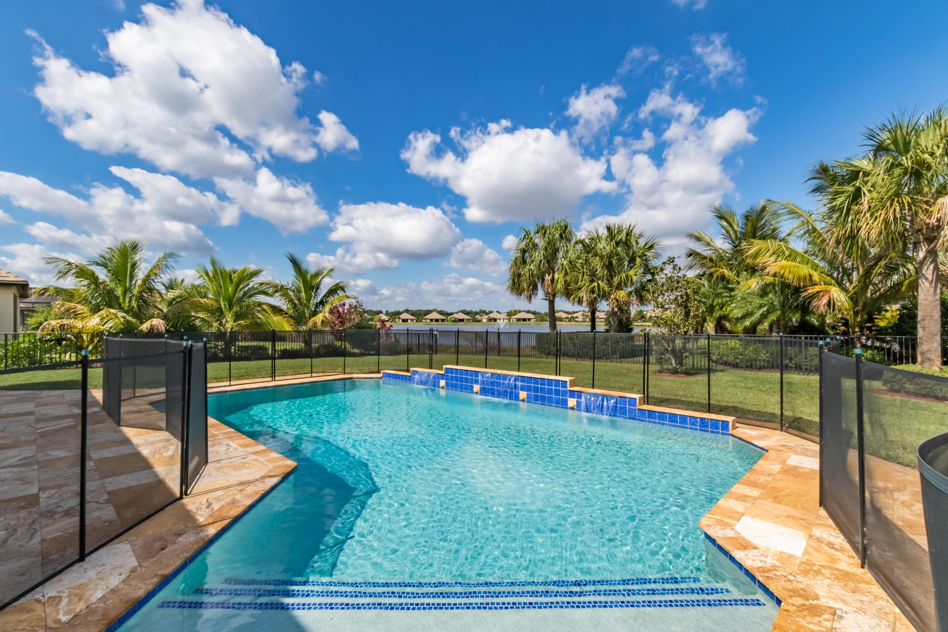 Castellina Wellington FL Waterfront Pool Home for Sale 4722 Siena Circle