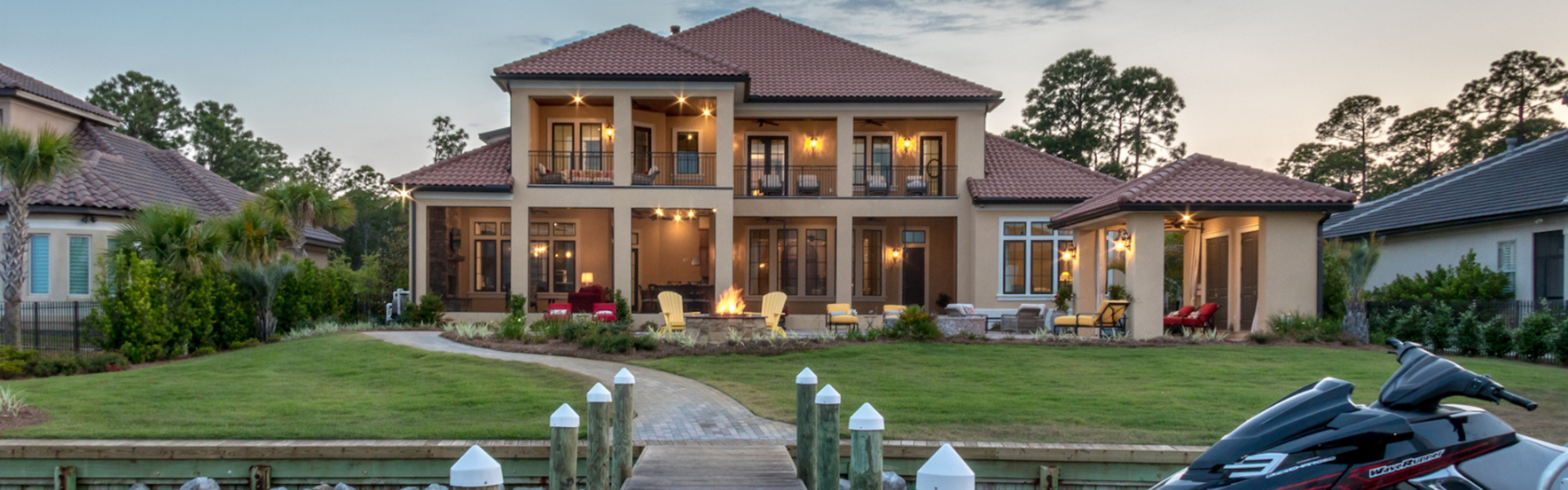Just Listed: ICF Constructed Estate on 100-plus ft of Choctawhatchee Ba