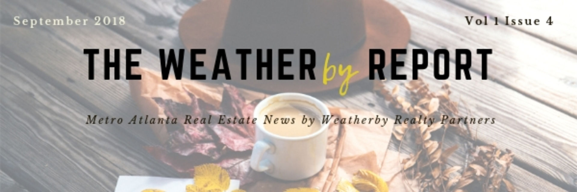 The Weatherby Report – September 2018