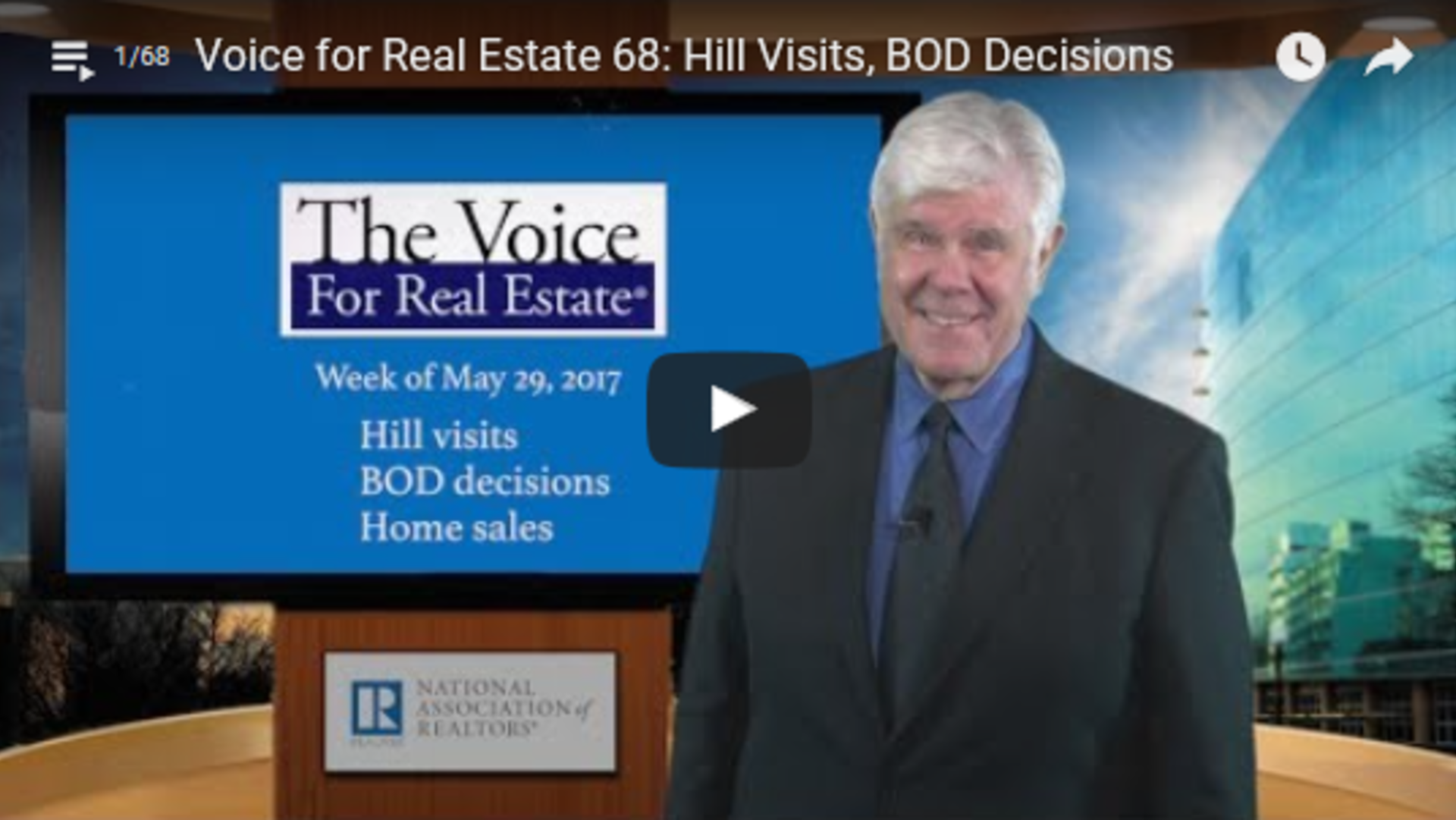 The Voice for Real Estate 5-29-17