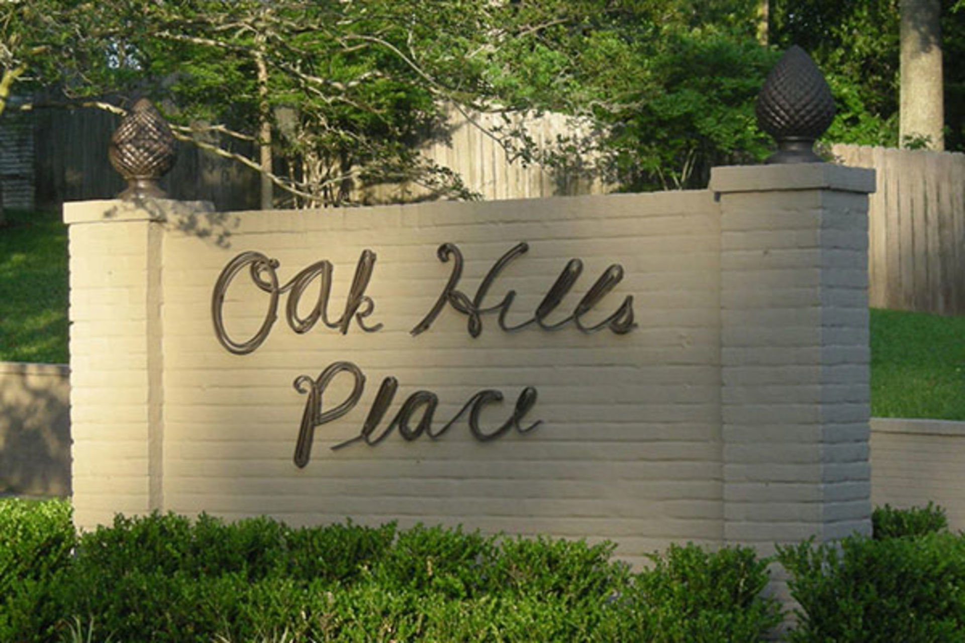 Oak Hills Place Subdivision