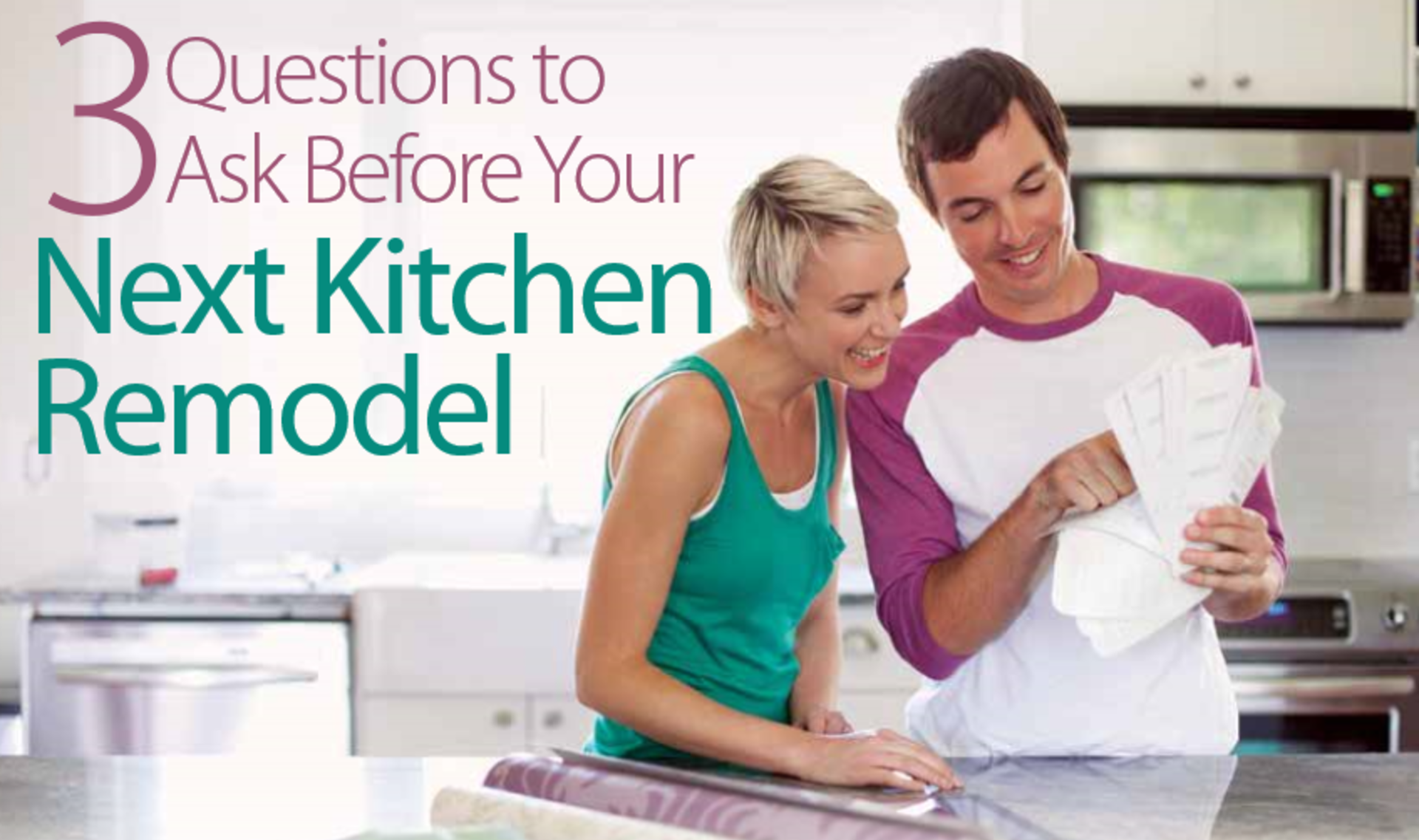 Kitchen Remodeling: 3 Questions To Ask Before Getting Started