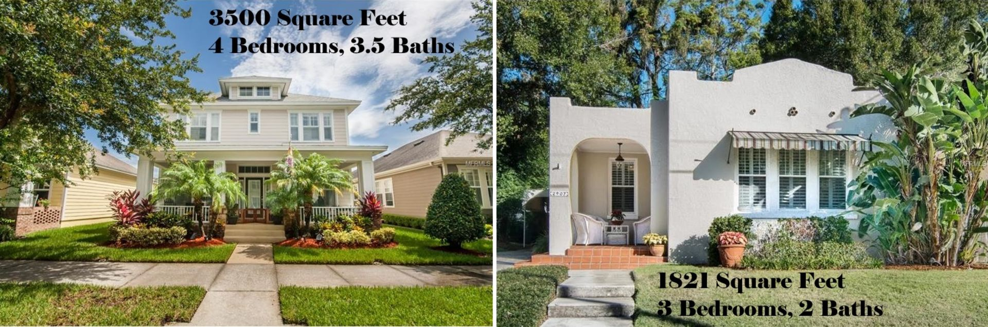 Which Tampa Home Sold For More Money?