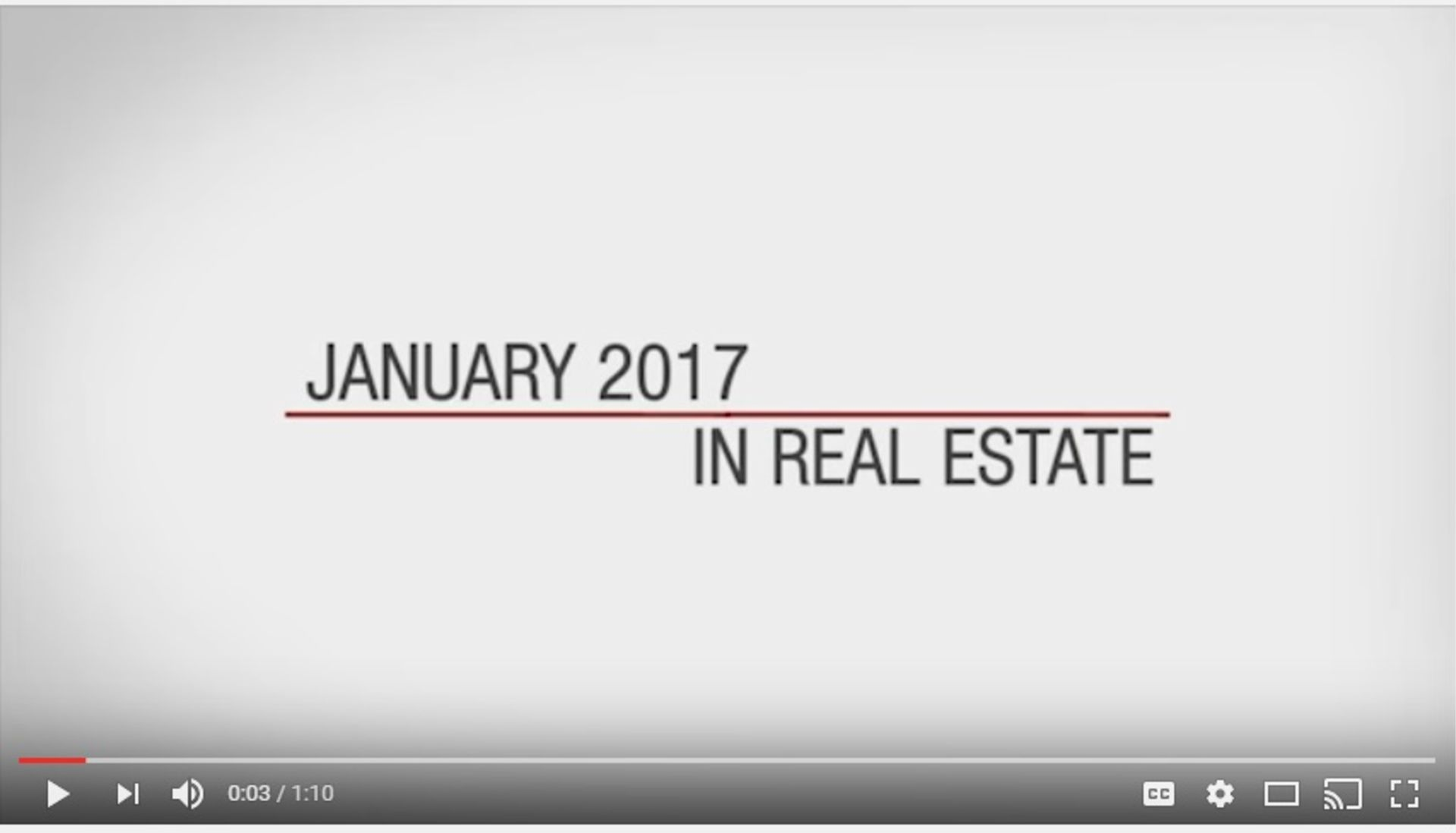 This Month In Real Estate-January 2017