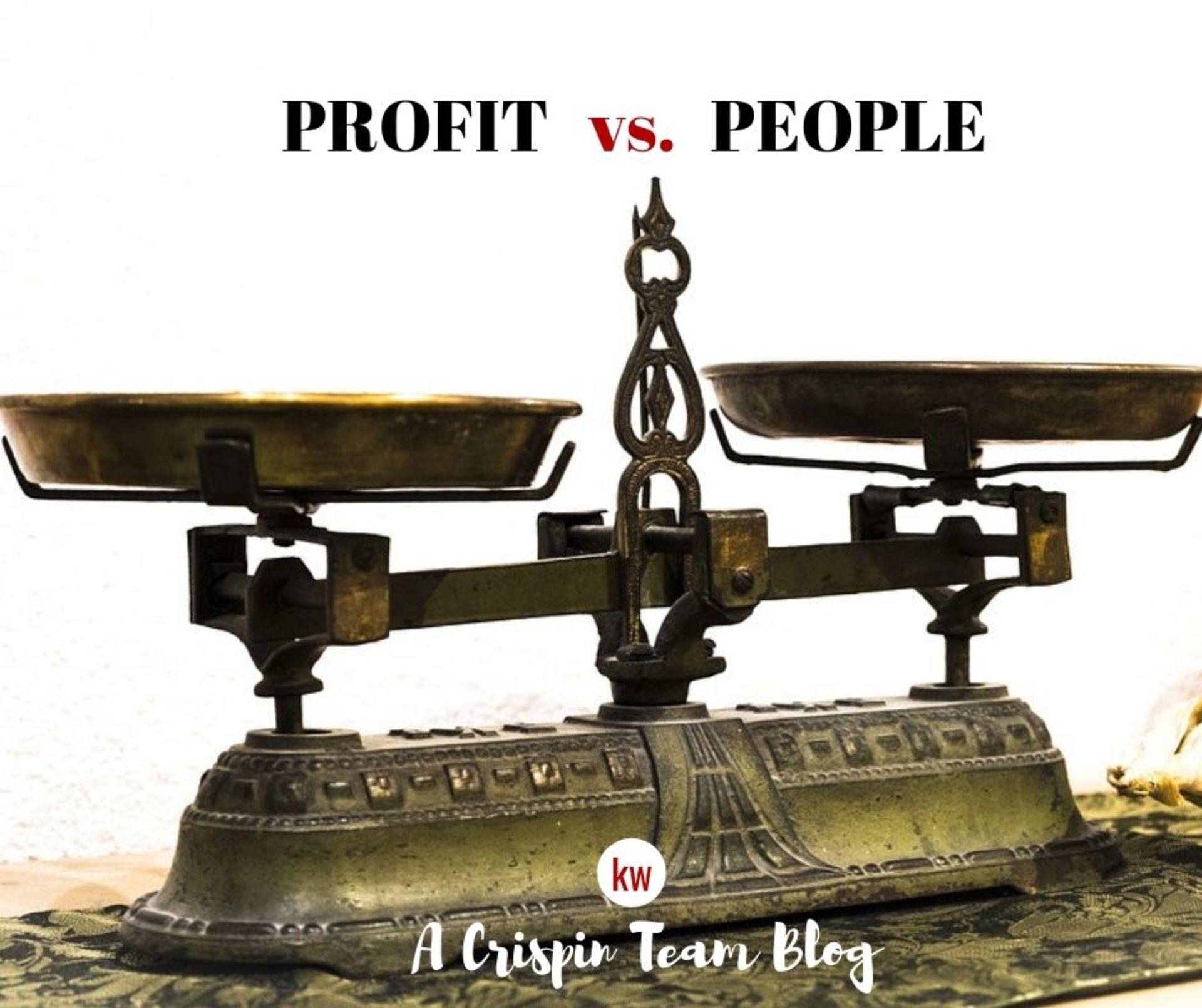 Serving People vs. Serving Money