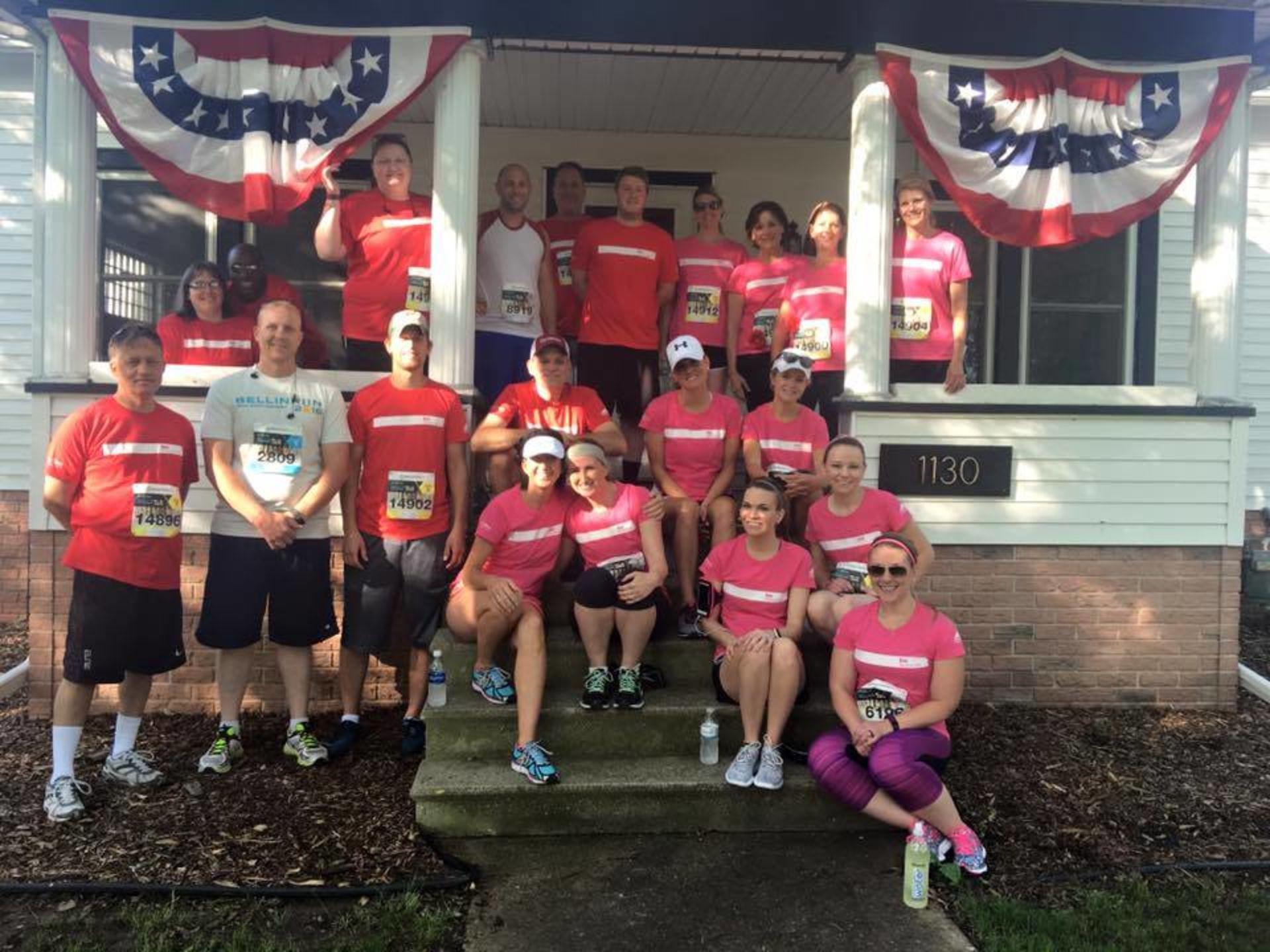 Bellin Run – We Did It!