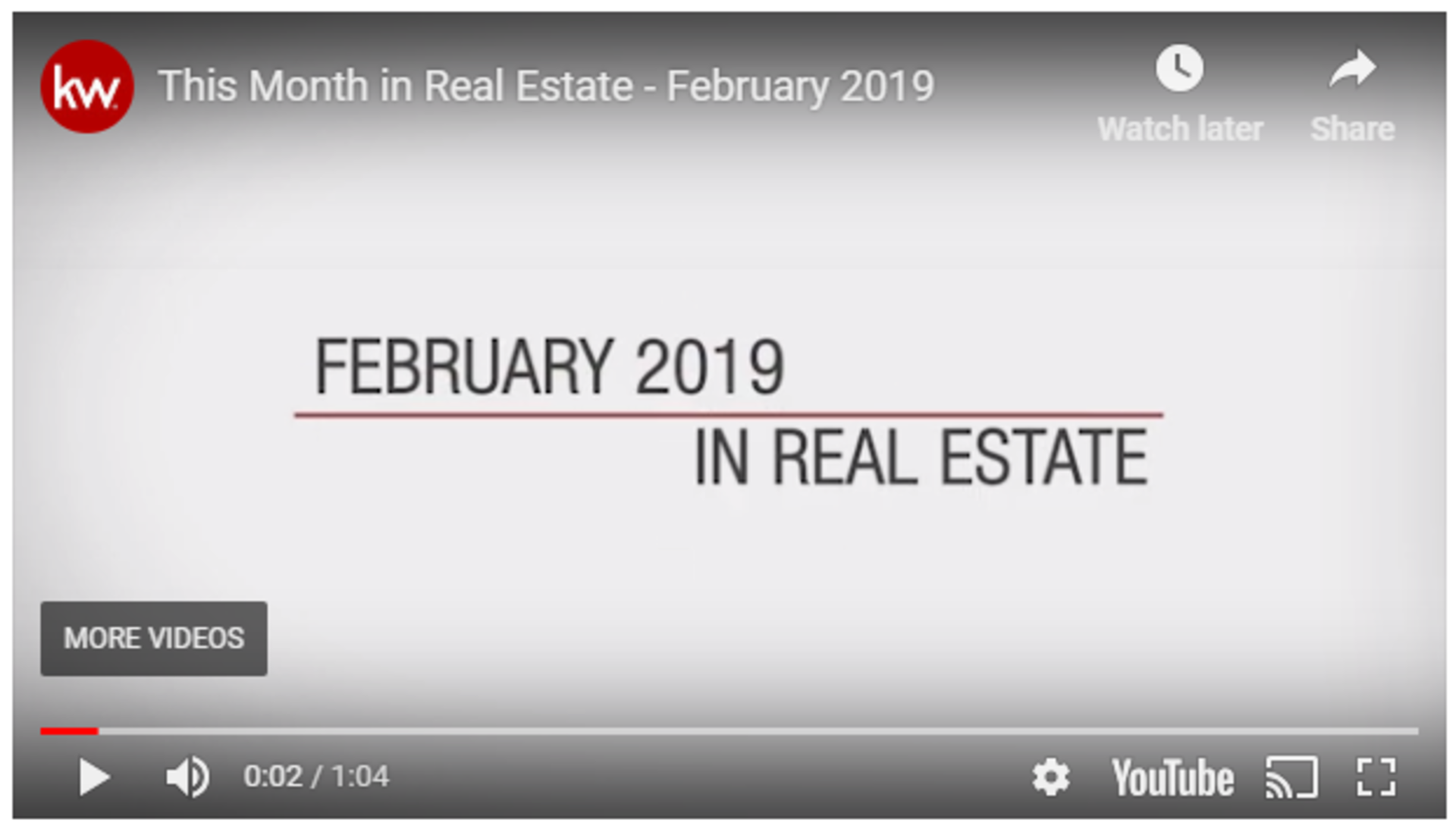 This Month in Real Estate by Beth Perez
