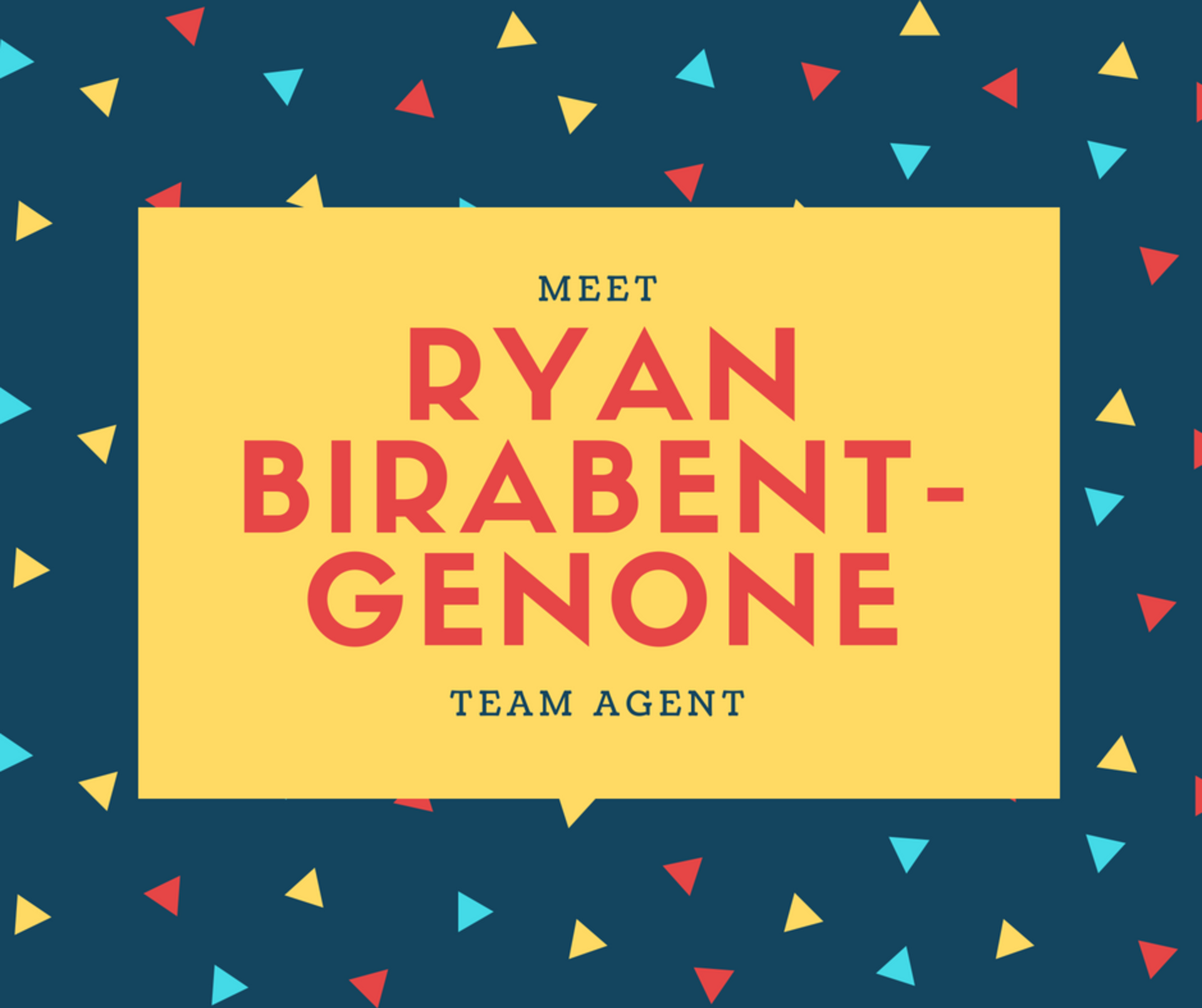 Meet our Team: Ryan Birabent-Genone