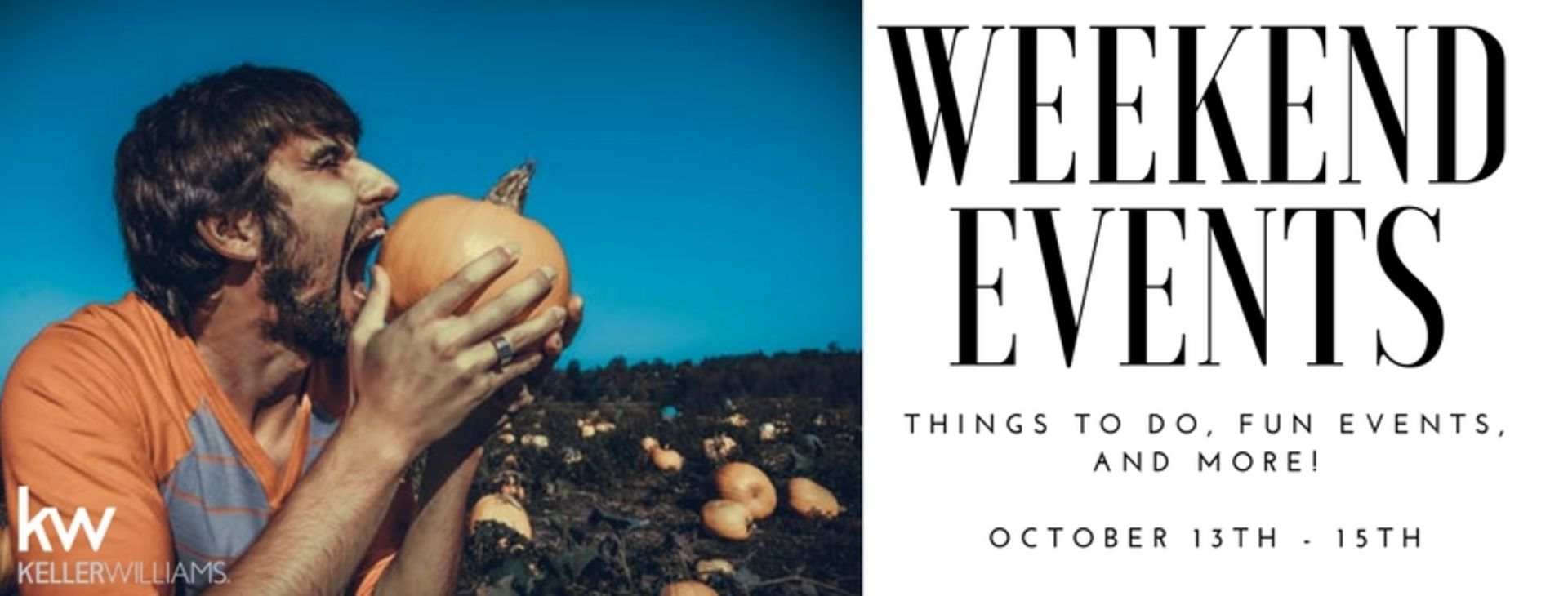 Weekend Events October 13th-15th