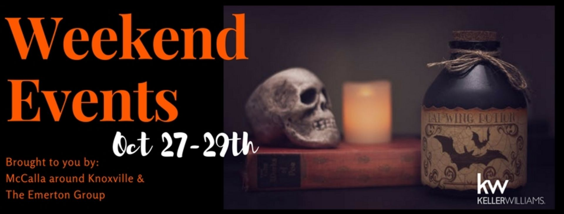Knoxville Weekend Events October 27-29th