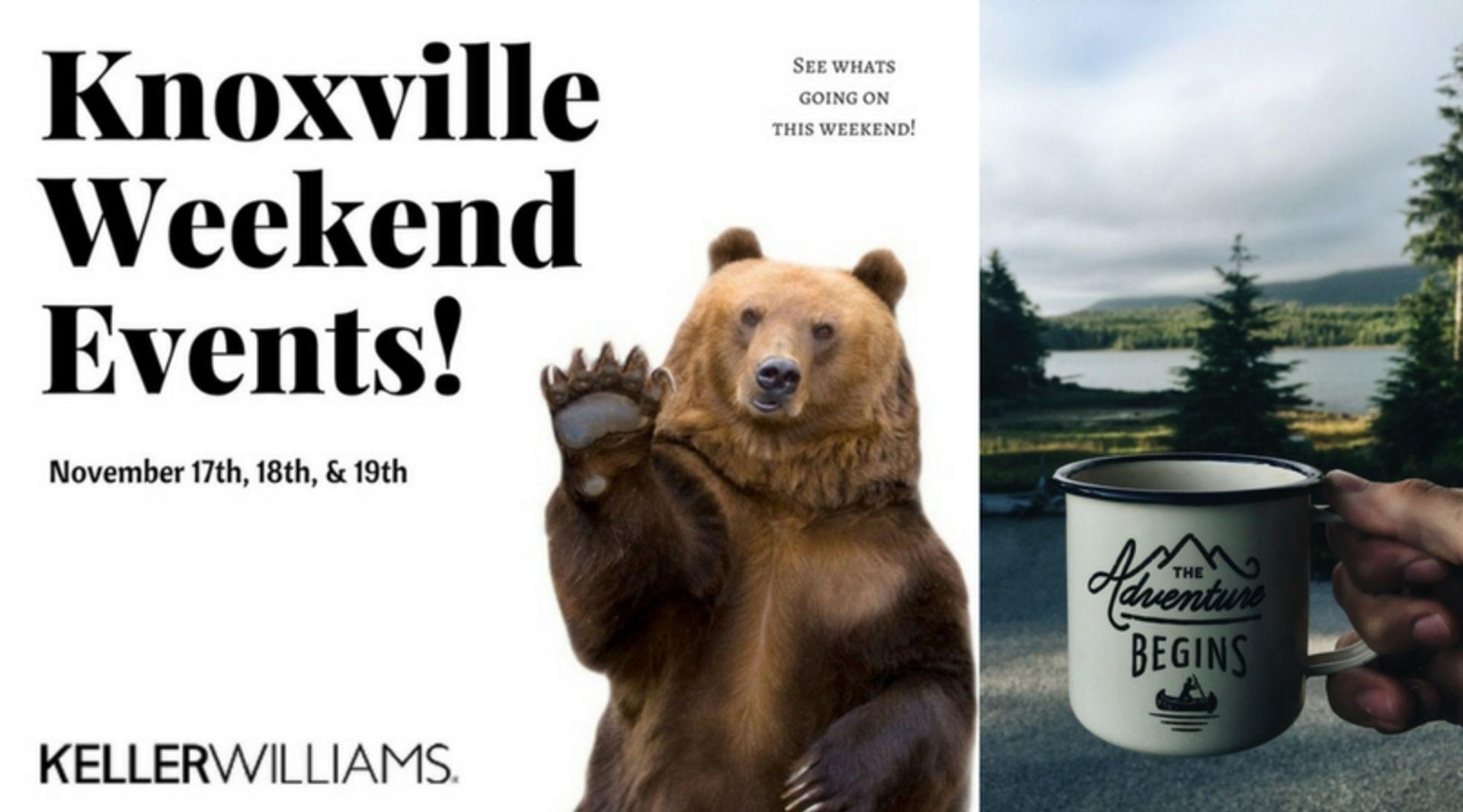 Weekend Fun! November 17th, 18th, & 19th
