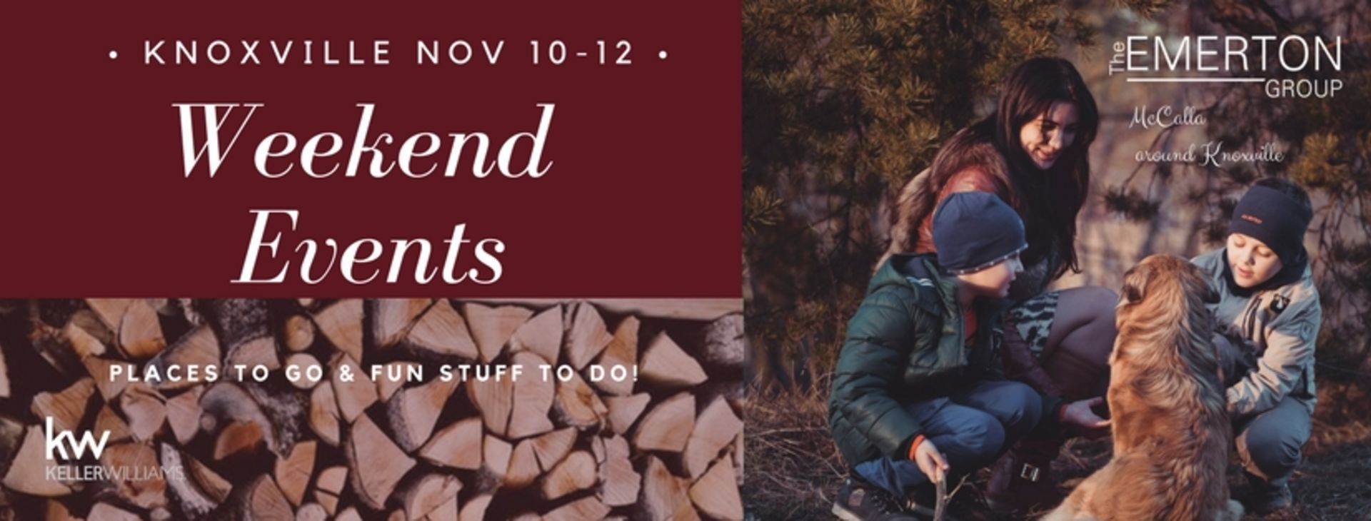 Weekend Events November 10th-12th