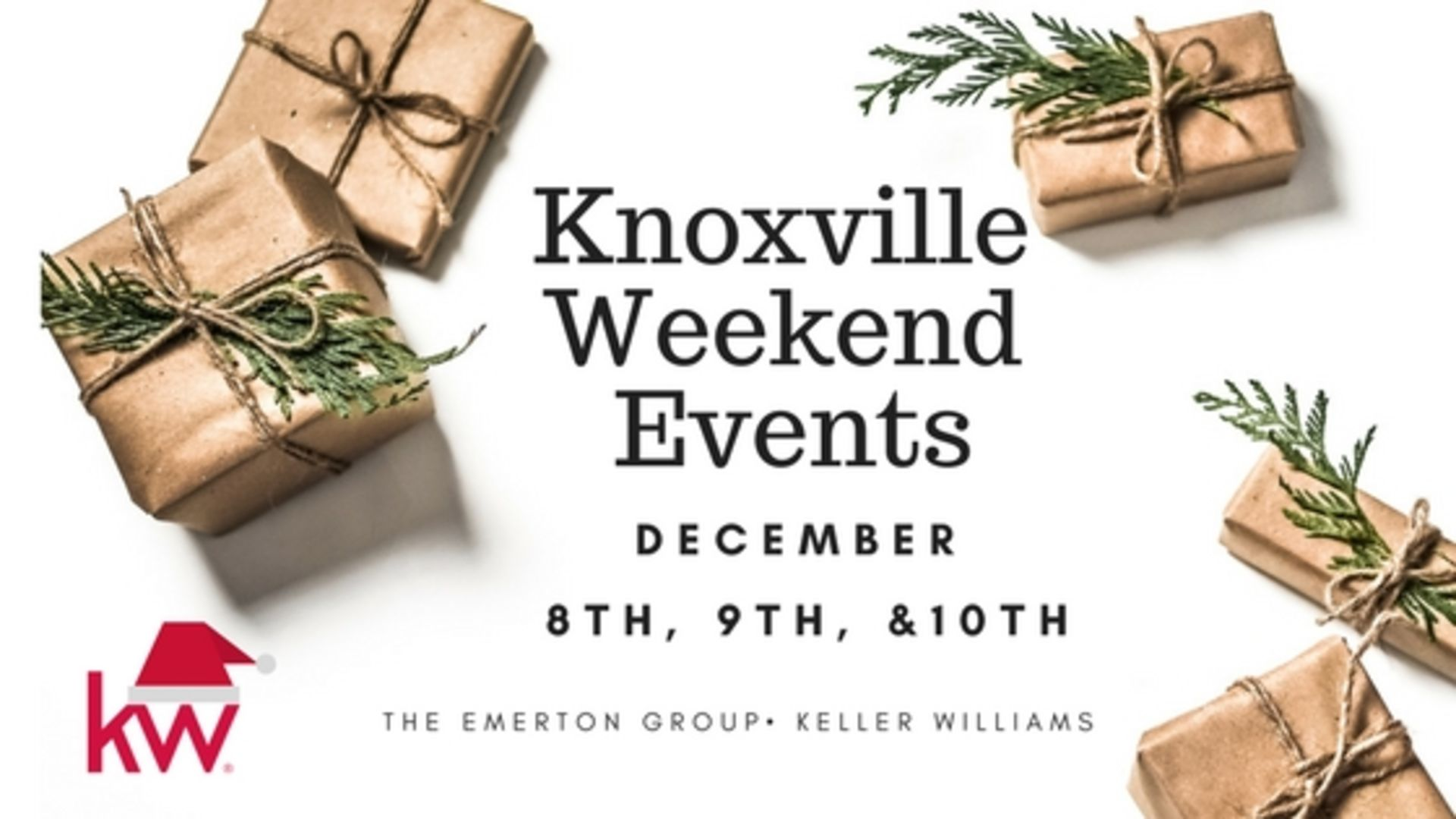 Holiday Fun in Knoxville! December 8th , 9th & 10th 2017