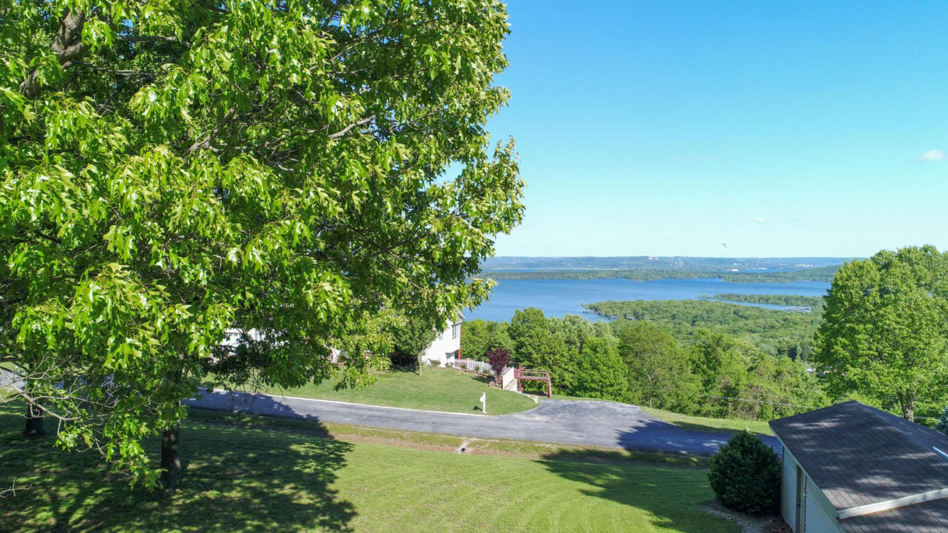 Table Rock Lake View Lot in Branson West, MO