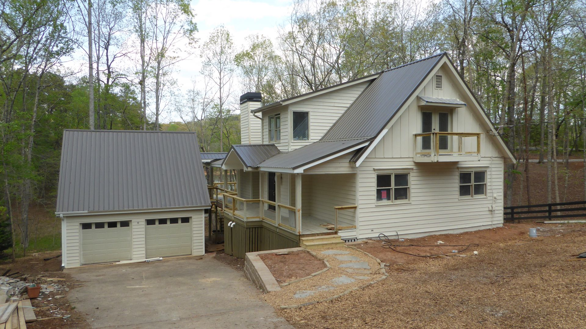 Lake Lanier Home Renovation in Progress