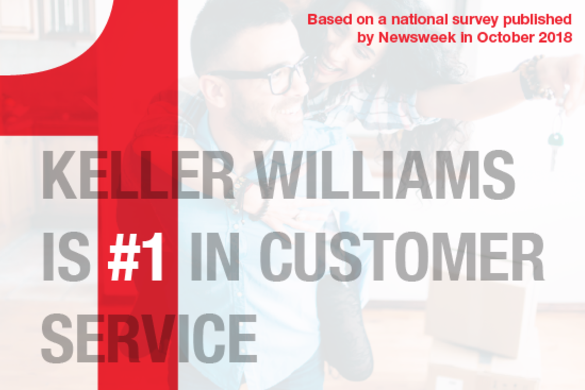 Keller Williams #1 in Customer Satisfaction