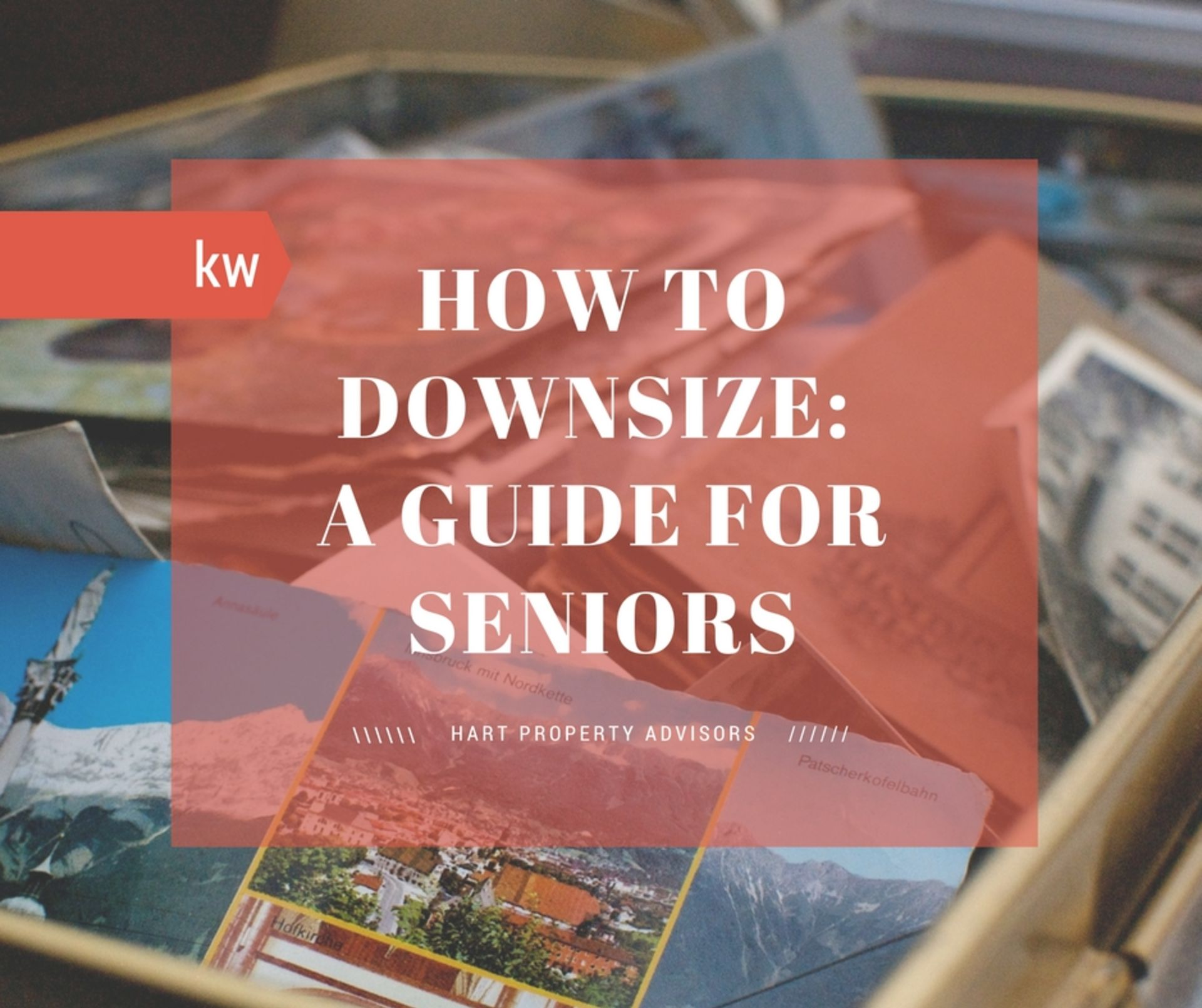 How to Downsize: A Guide for Seniors