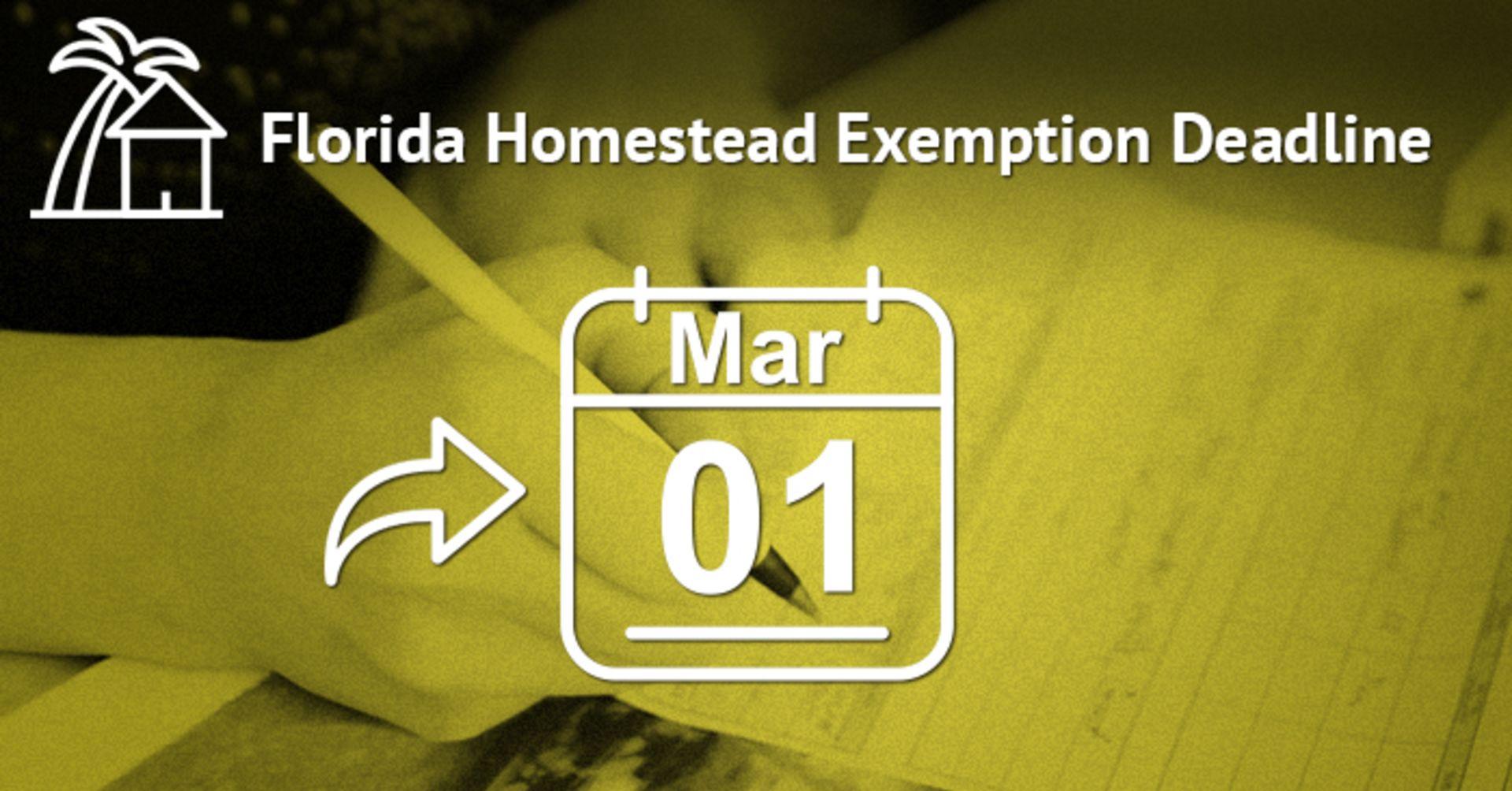 Florida Homestead Exemption 2017