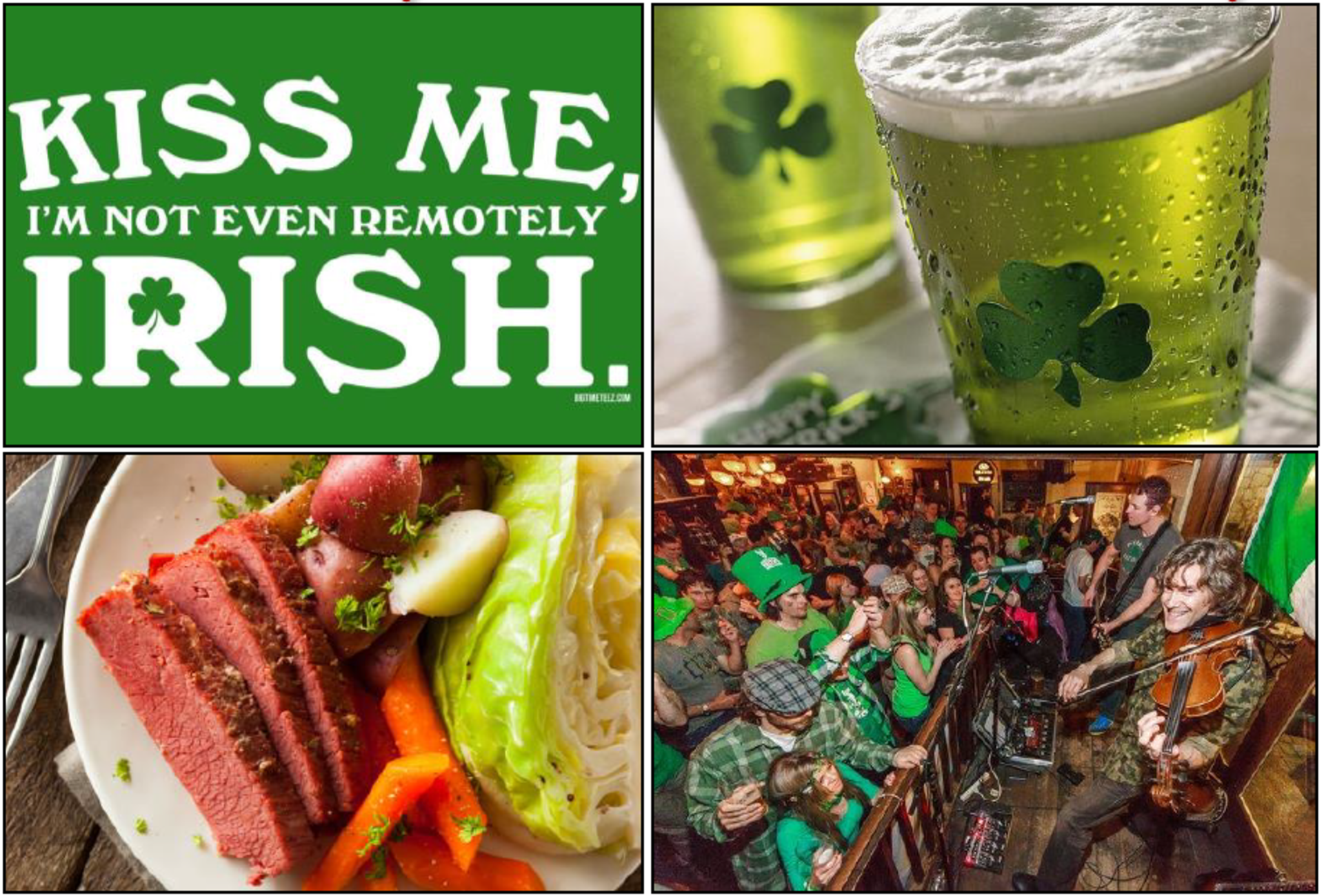 Schulien and Associates' Weekend Guide: (Mar 16-18) SPECIAL ST. PATTY's DAY EDITION!