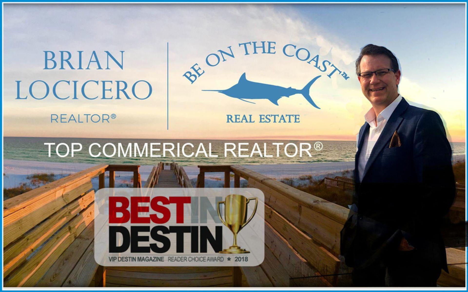 2018 Best in Destin Top Commercial Realtor®