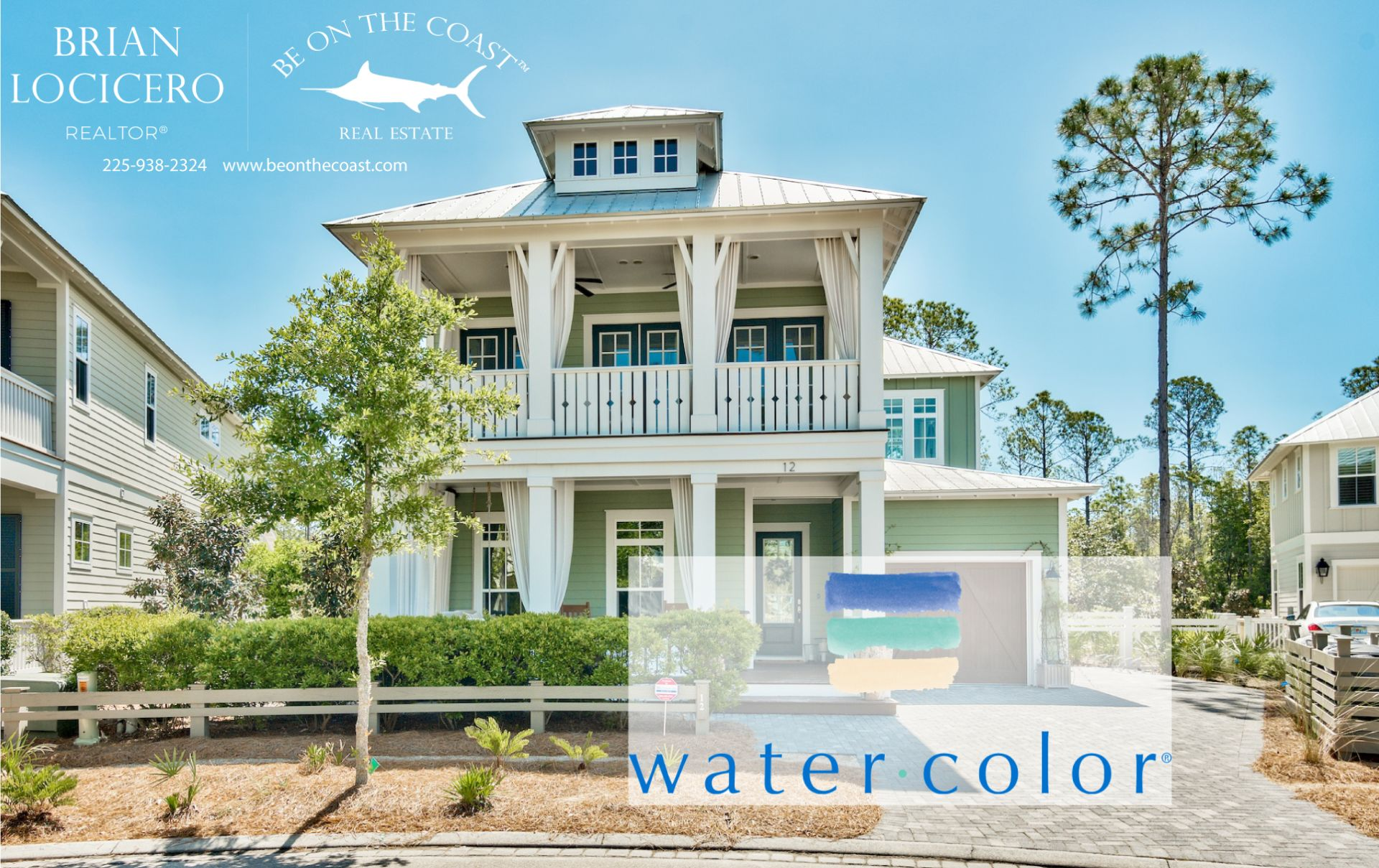 {NEW TO THE MARKET}WATERCOLOR HOME