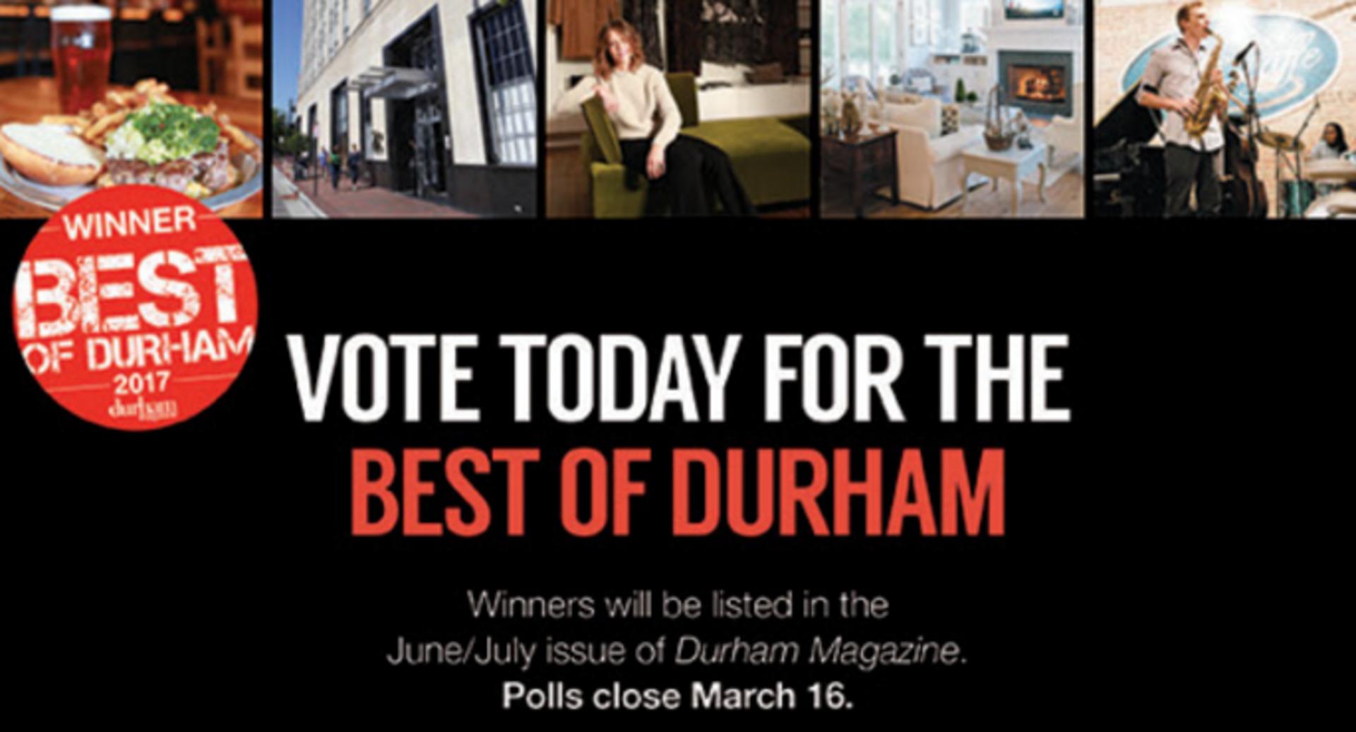 Vote Now! Best of Durham
