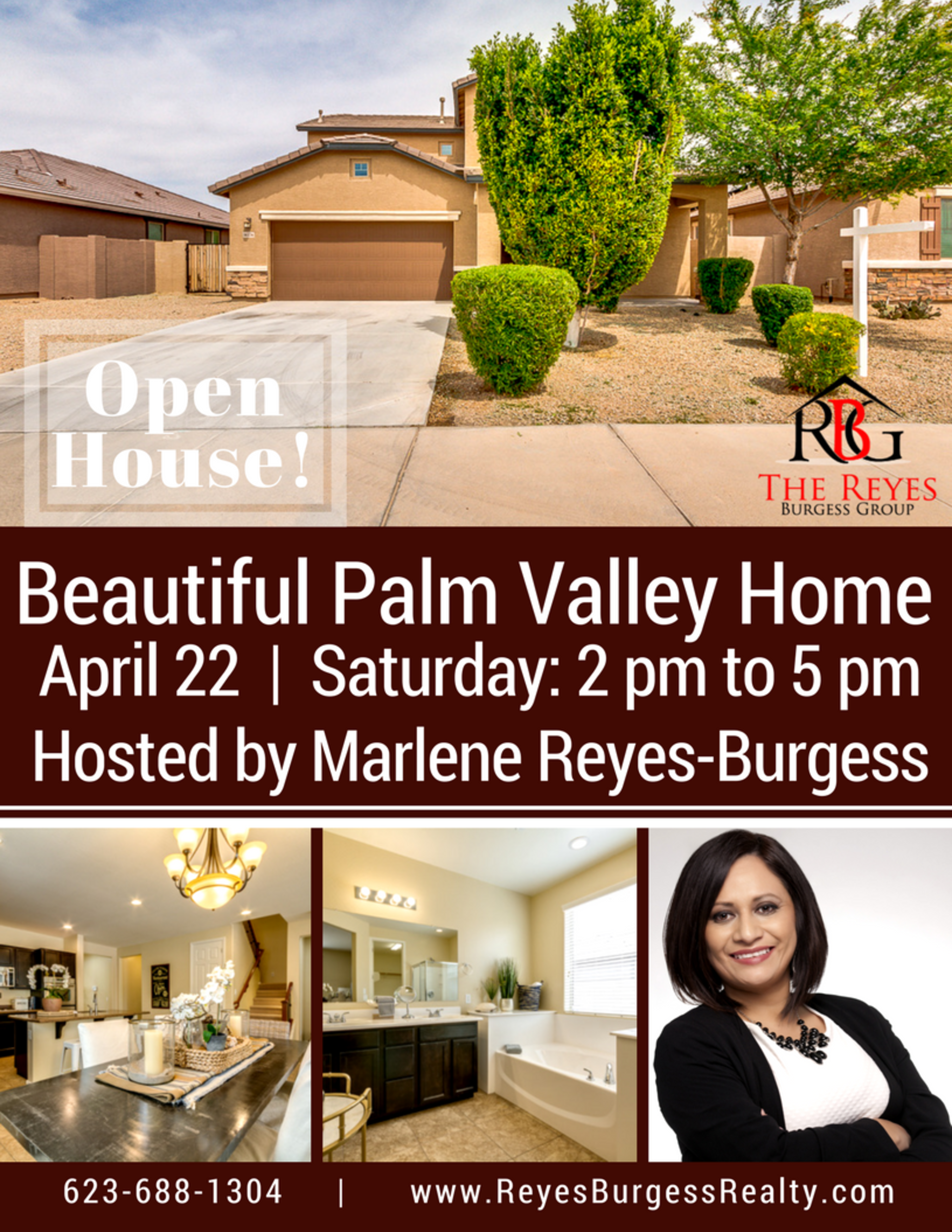 Open House! Beautiful Palm Valley Home!