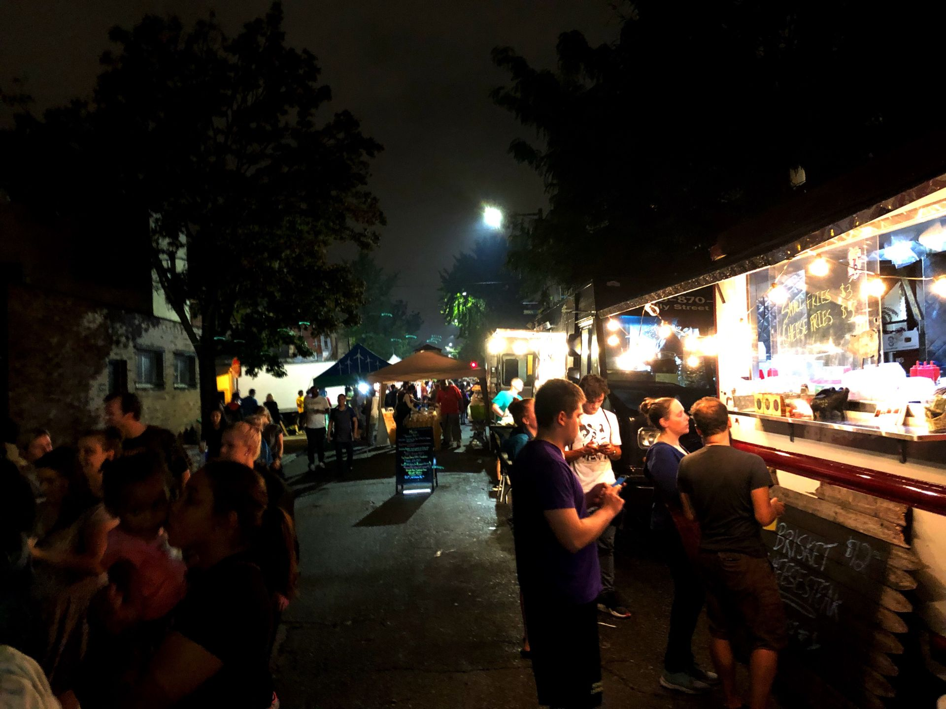 The Point Breeze Night Market's Potential Long Term Impact