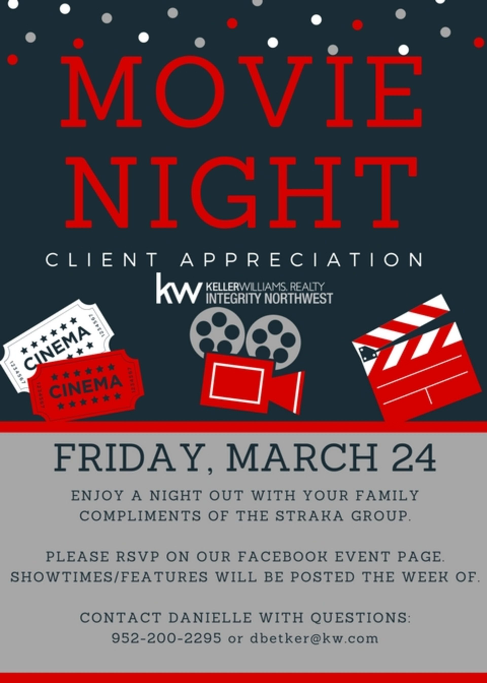 Client Appreciation Movie Night – Friday March 24