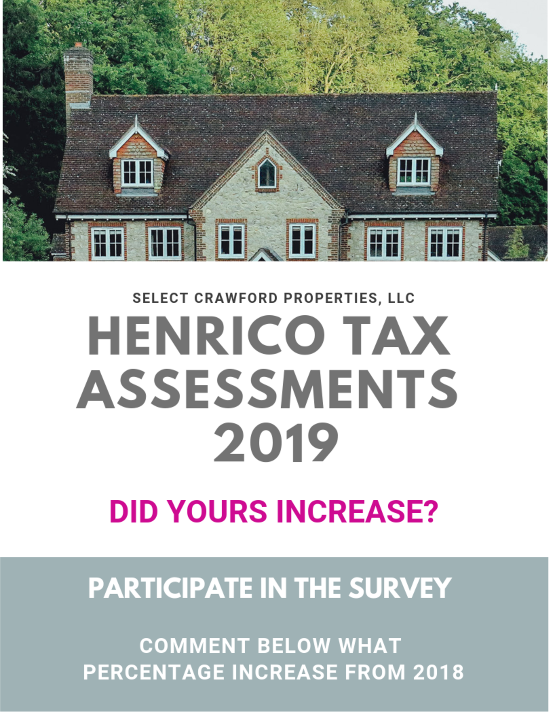 HENRICO TAX ASSESSMENTS ON THE RISE!