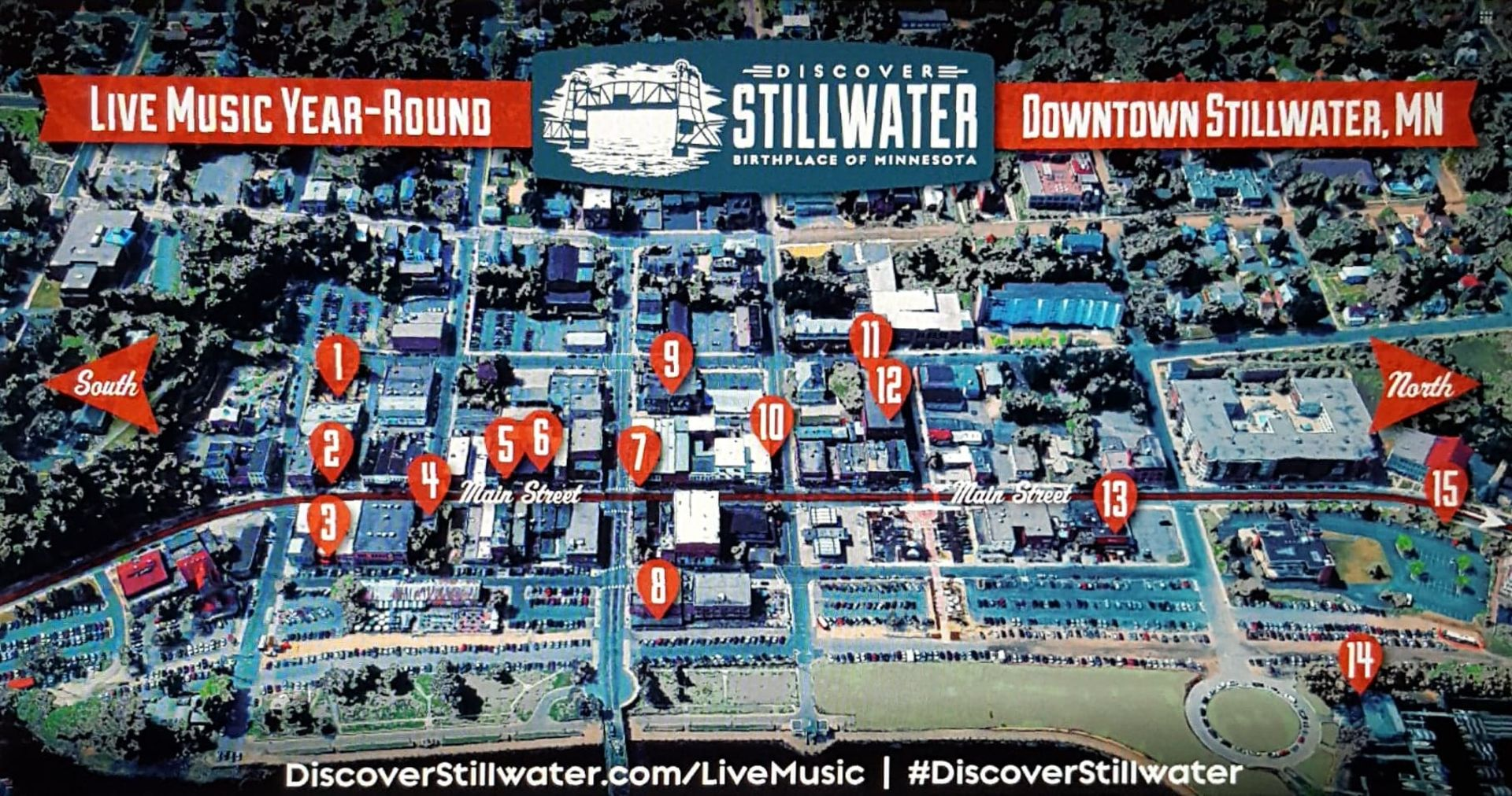 15 Live Music Venues In Downtown Stillwater!